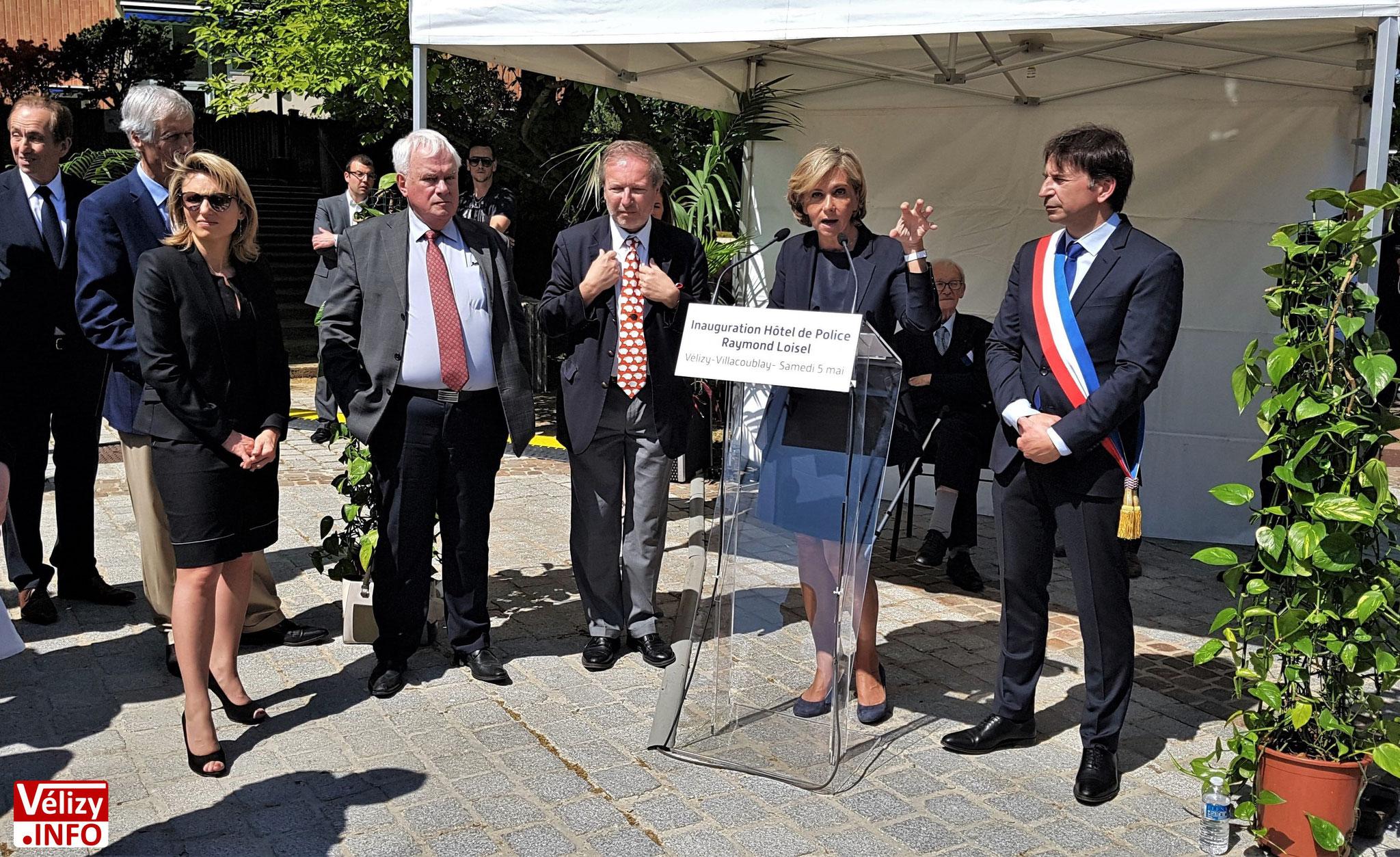 Prise de parole de Valérie Pécresse, présidente du conseil régional d'Île-de-France.