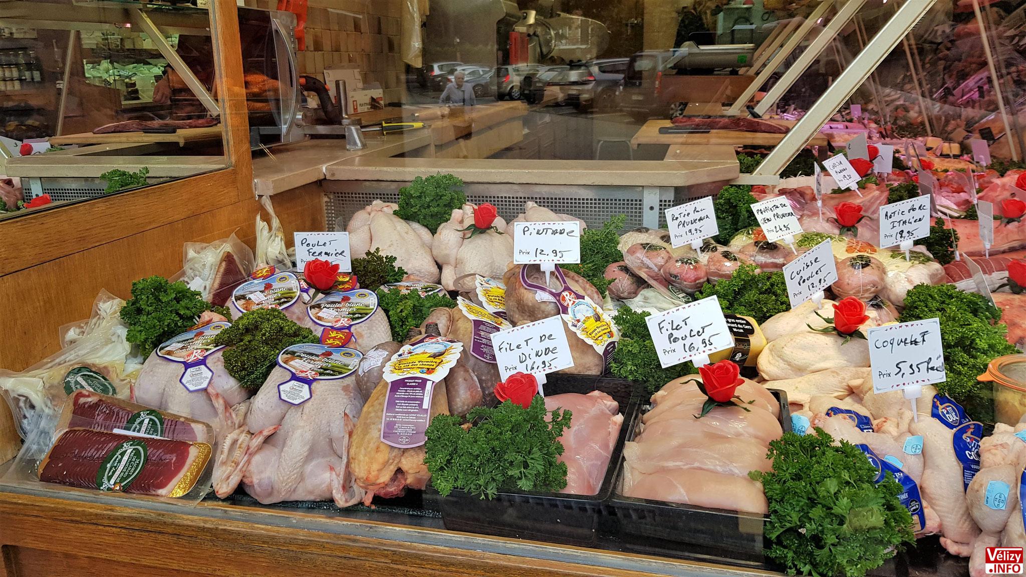 Boucherie du Village - Chez Christophe - à Vélizy-Villacoublay.
