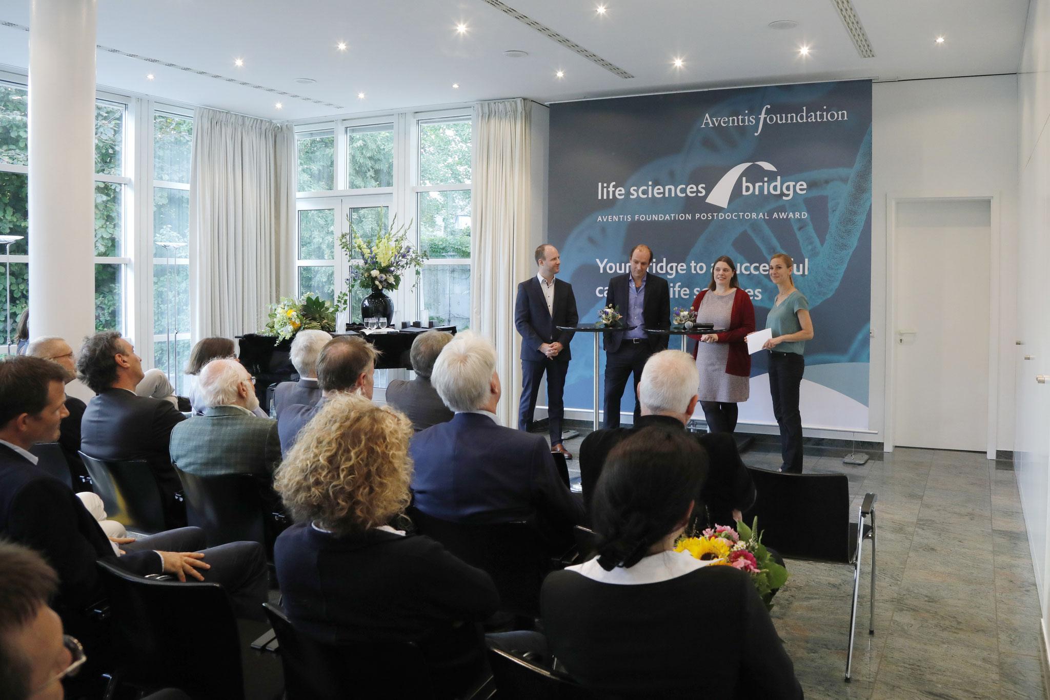 Preisverleihung Aventis Foundation Postdoctoral Award @Uwe Dettmar