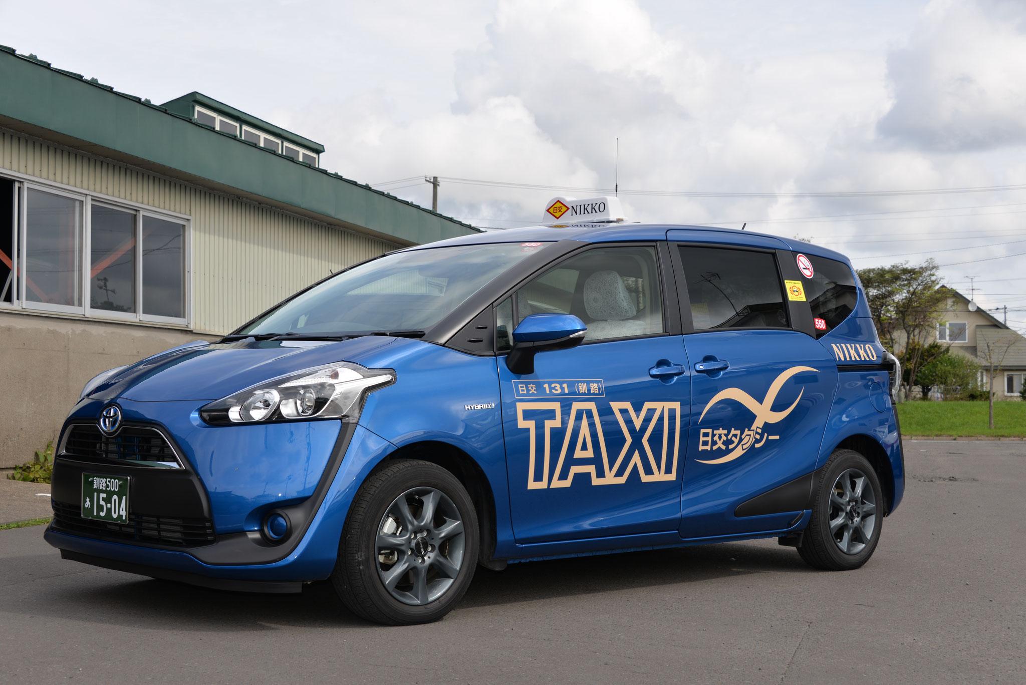 小型タクシー トヨタ シエンタ ハイブリットタクシー