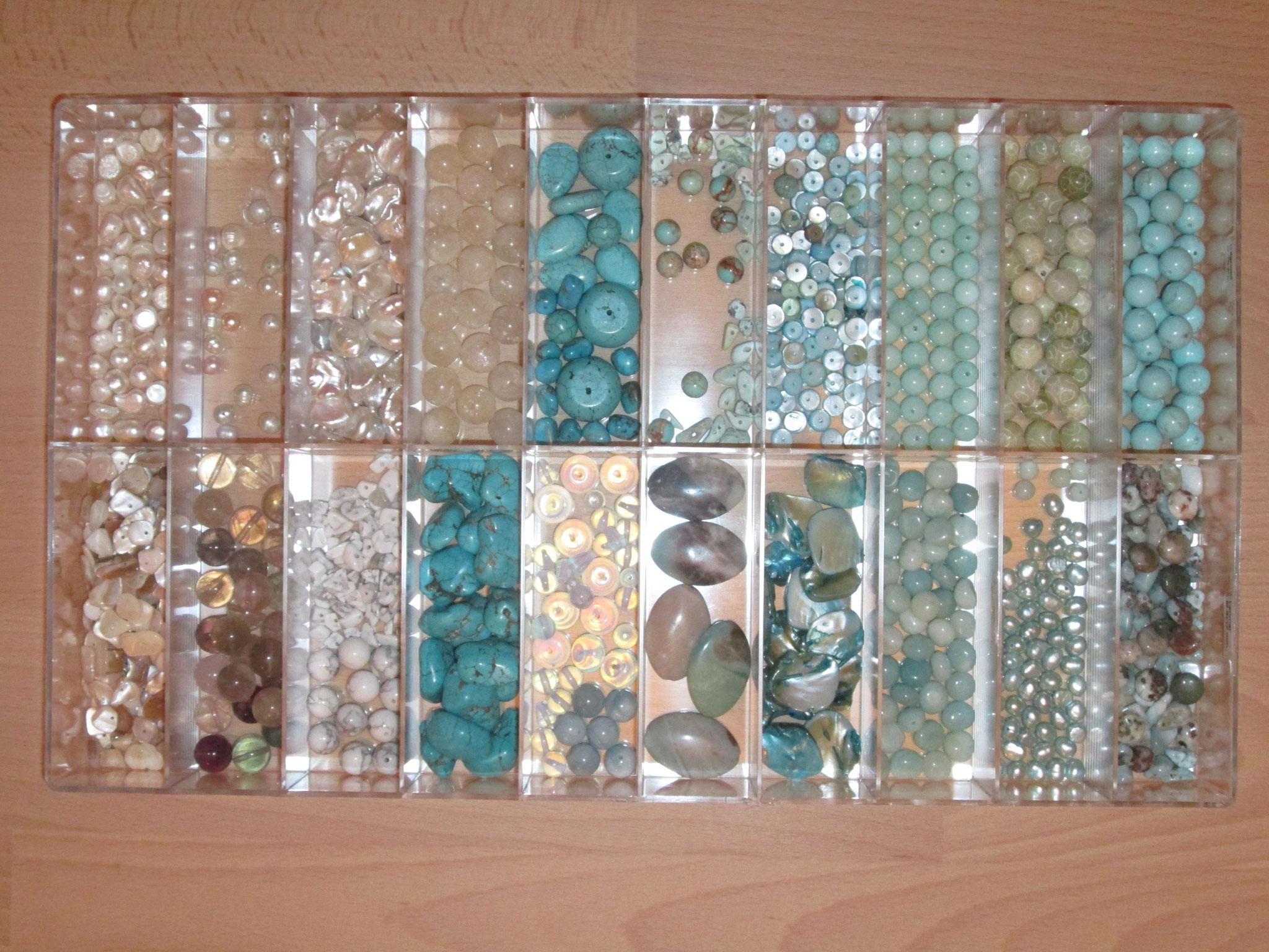 Perlen-Auswahl