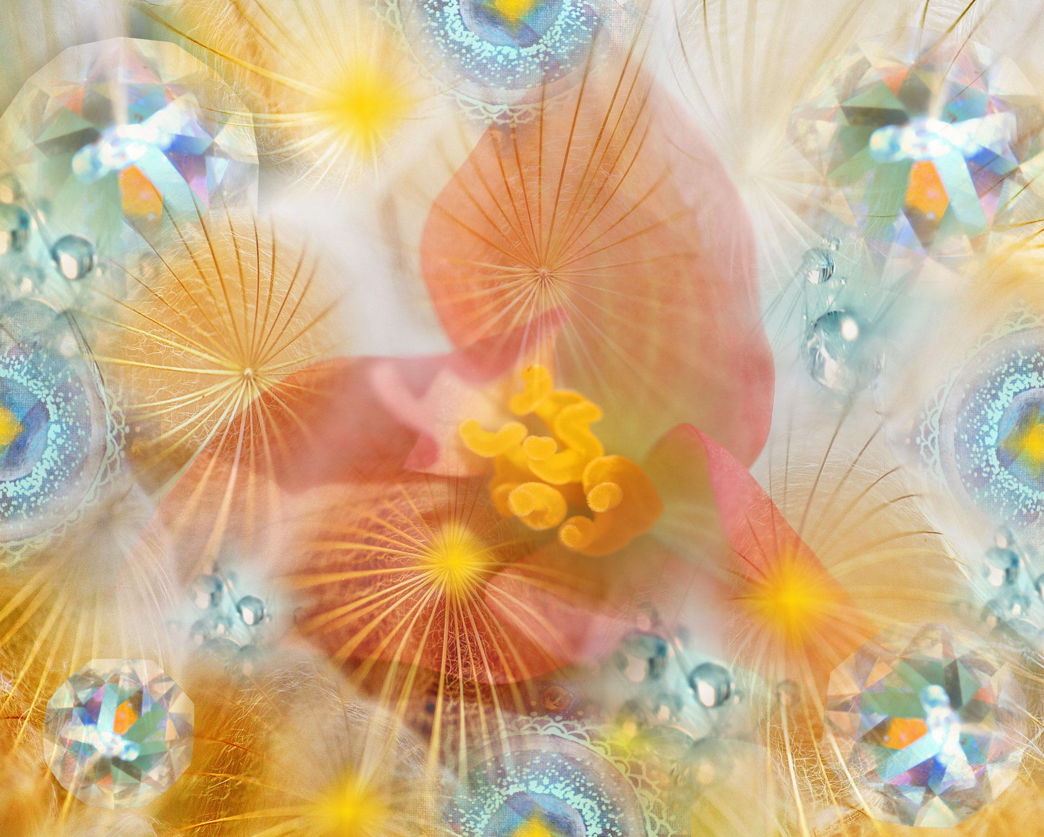 Kristall-Blüte