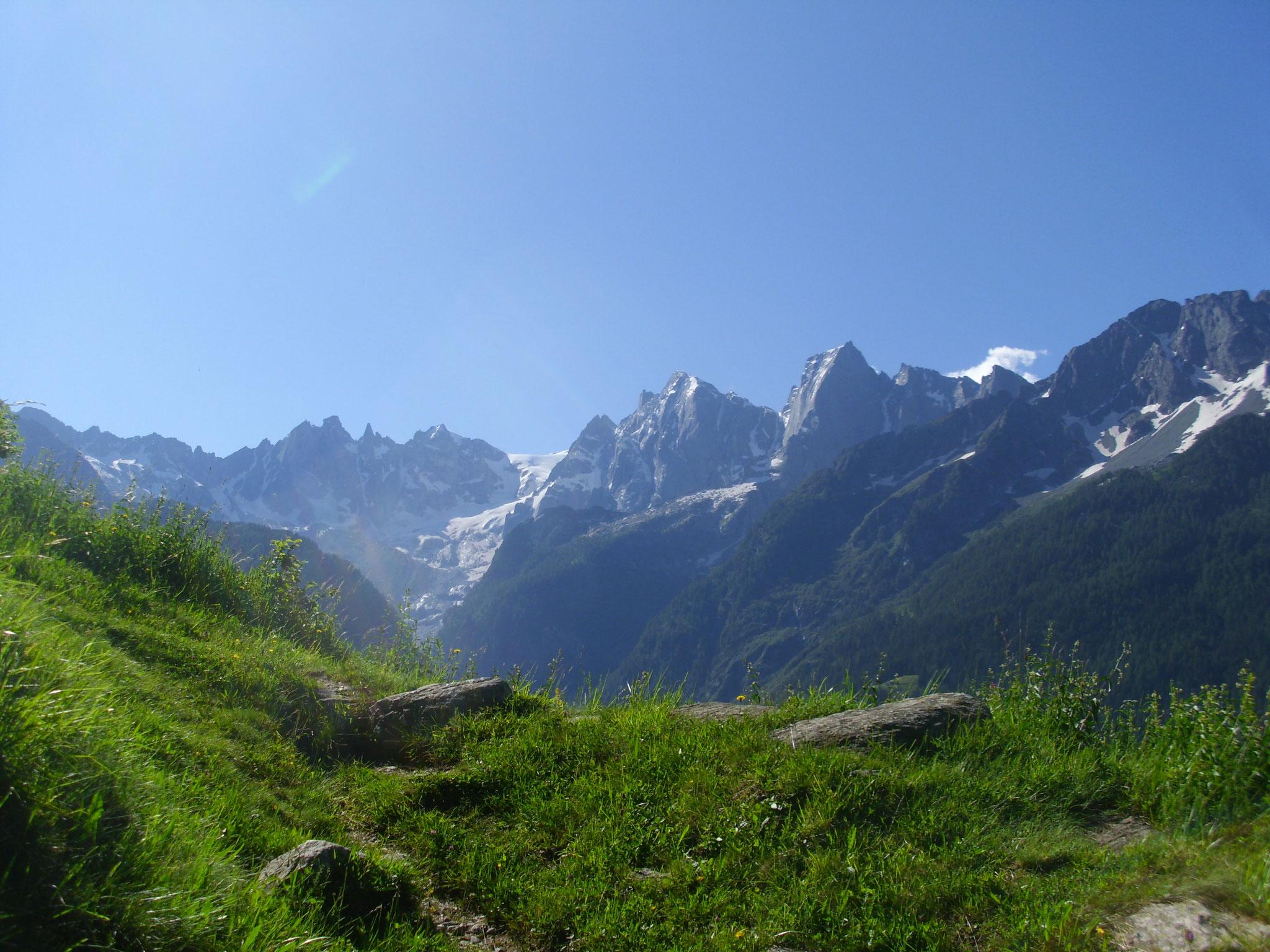 Auf dem Weg zur Alp