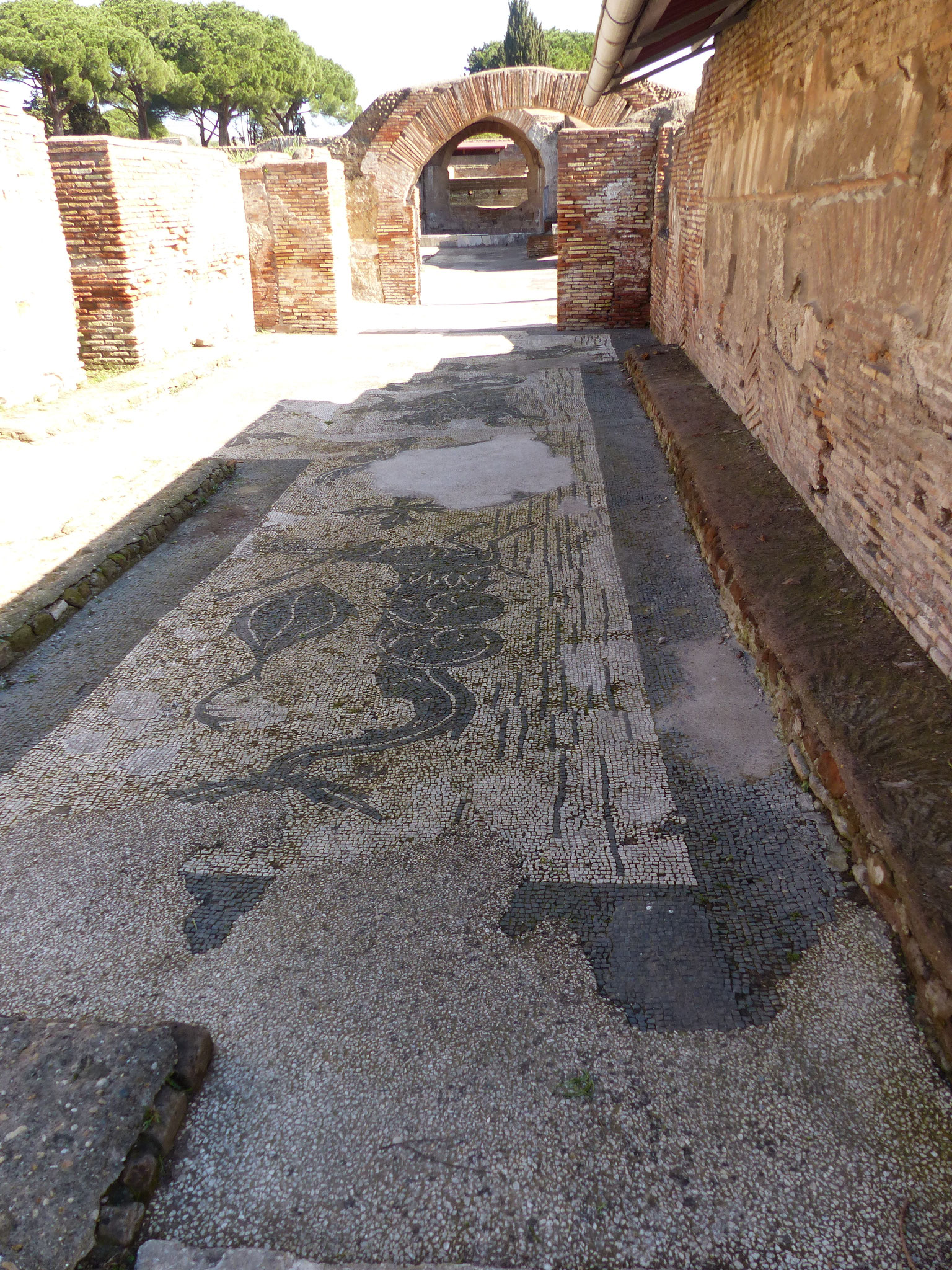 Mosaikböden