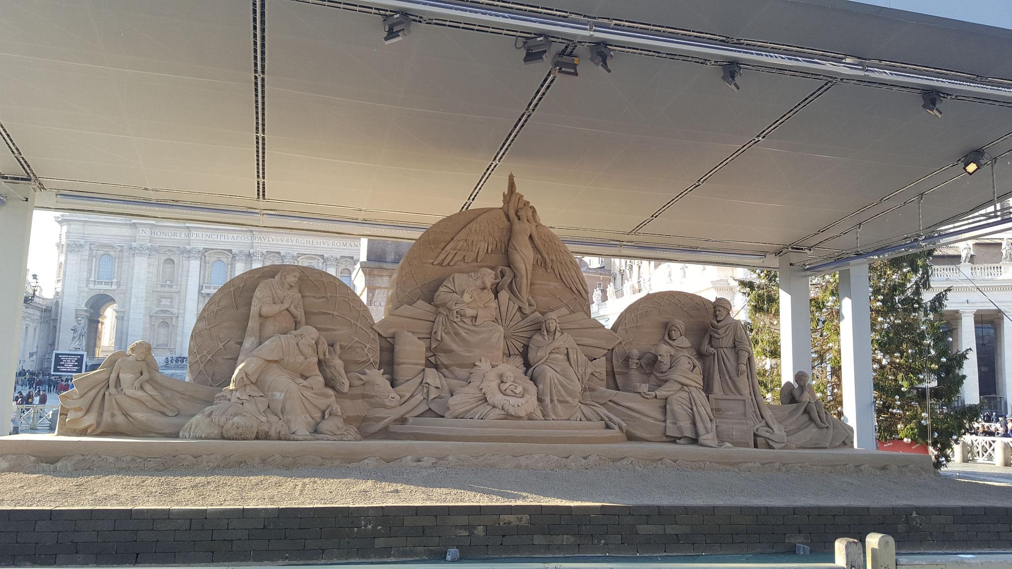 .....ganz aus Sand