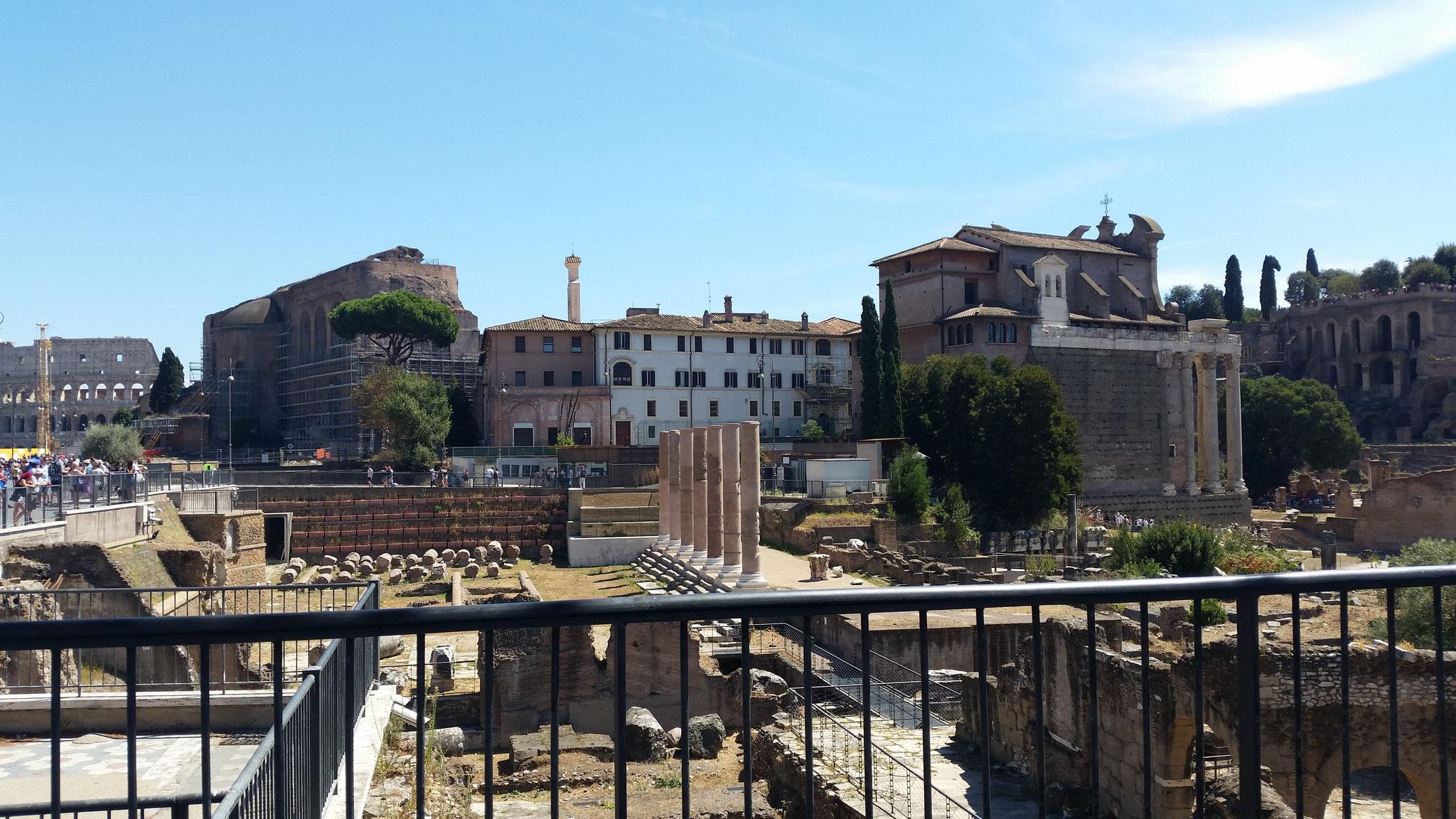 Forum Romanum / Palatin / Kolosseum