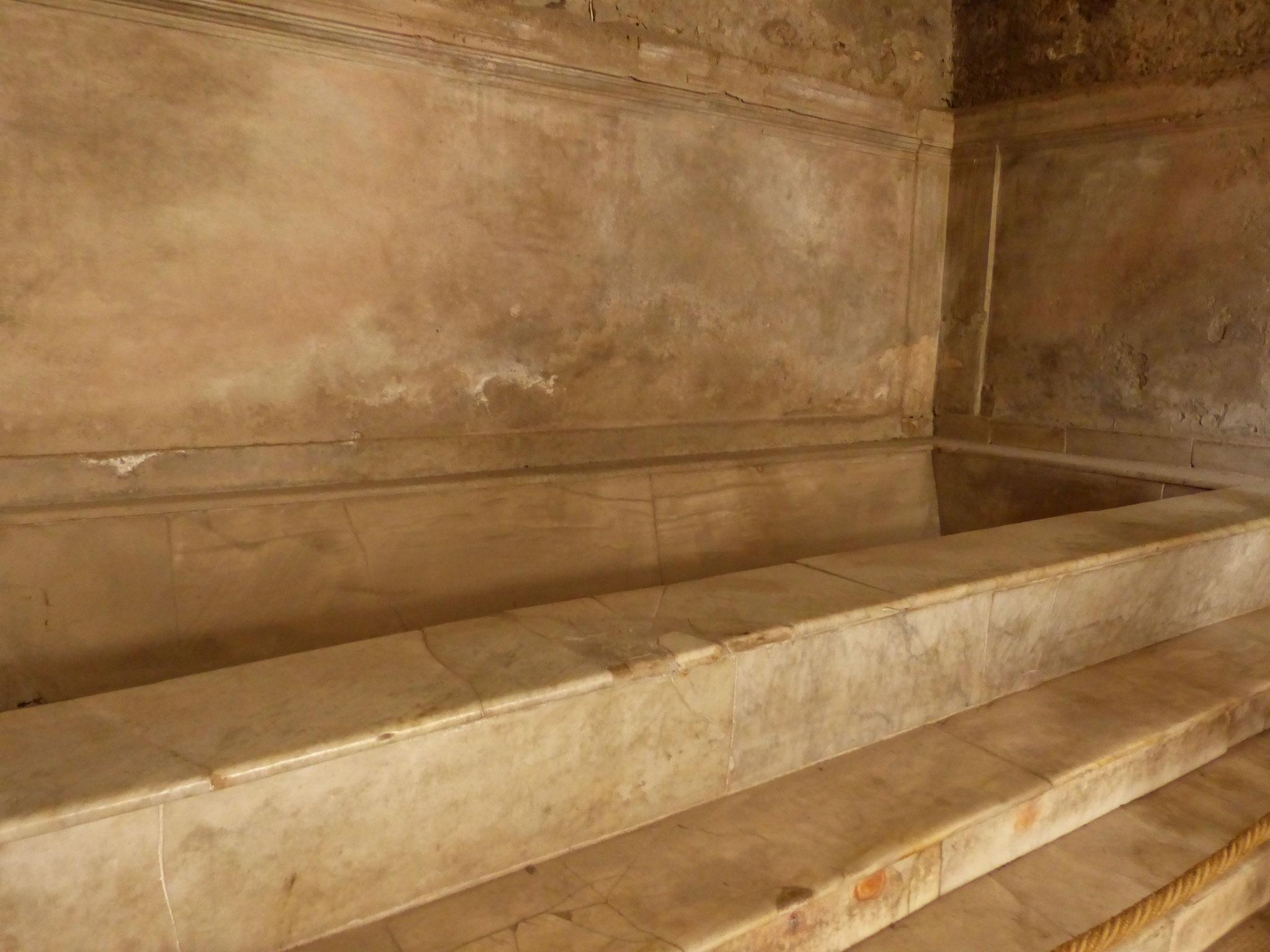 Becken für Fußbodenheizung