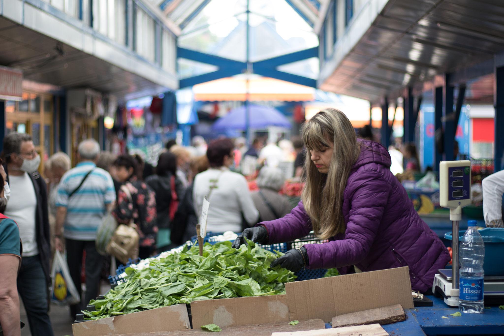 Local Market in Sofia, Bulgaria