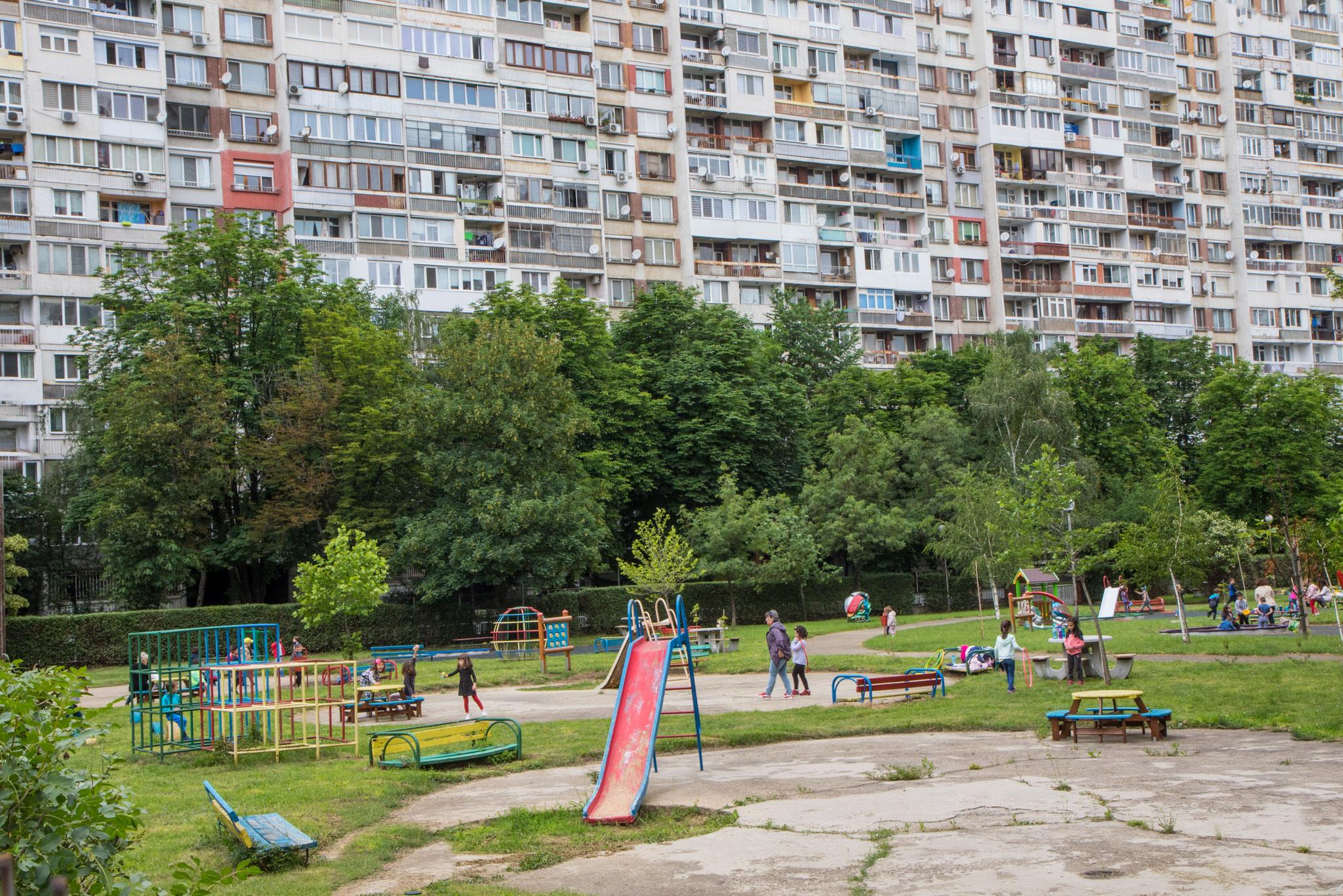 Playground in Sofia, Bulgaria