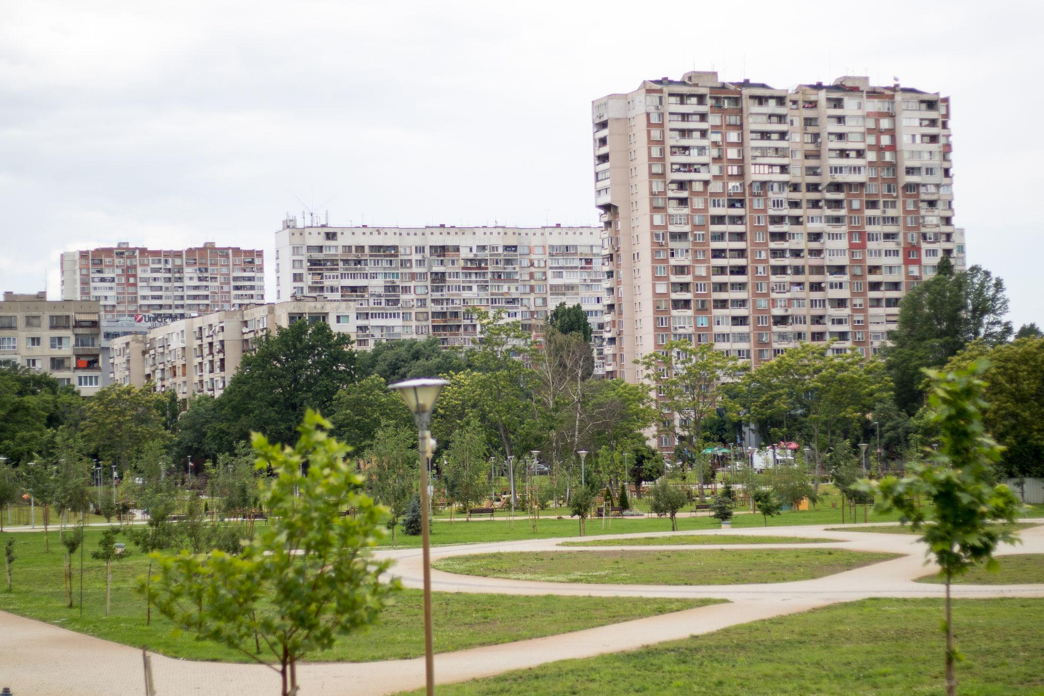 Inner City of Sofia, Bulgaria