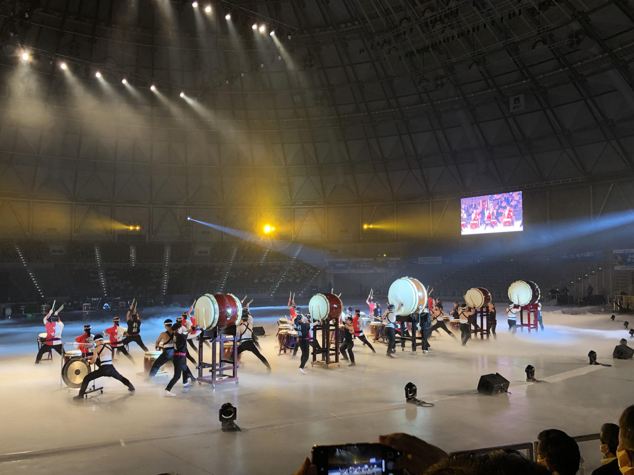 【総合開会式】福井県の高校生による応援パフォーマンス