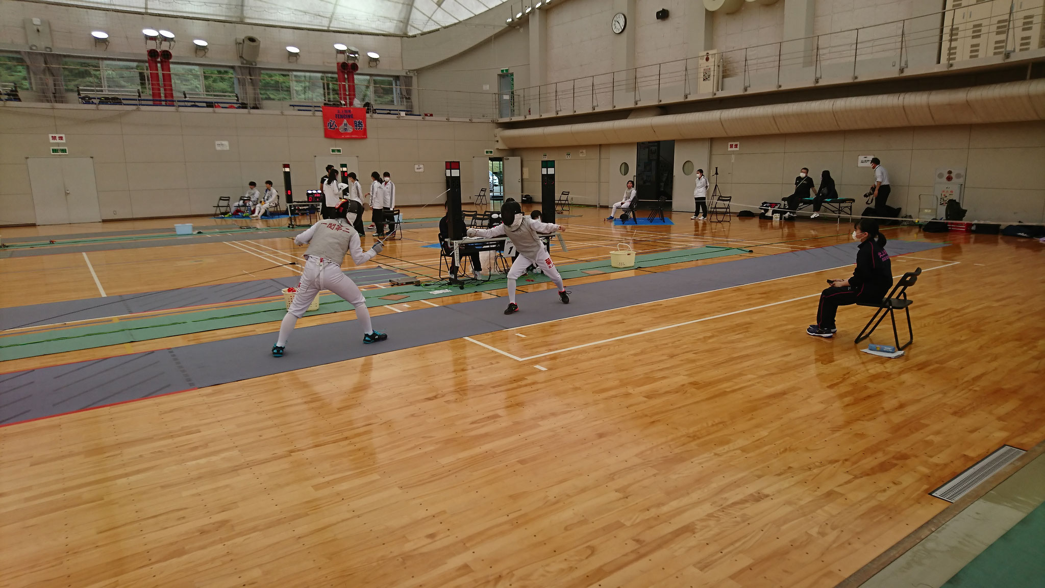 【フェンシング】5/28~5/29 @一関市産業教養文化体育施設