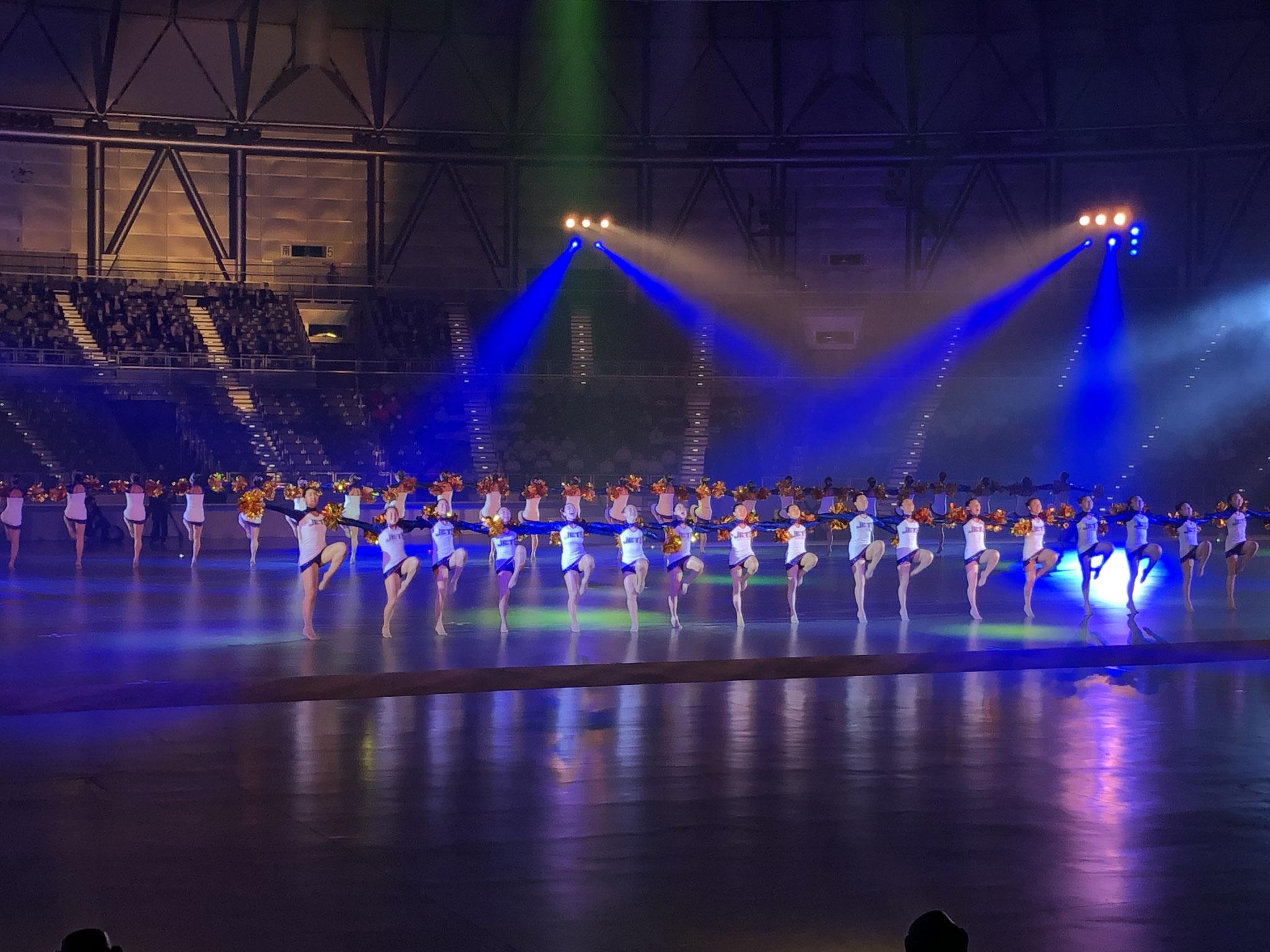 【総合開会式】福井商業高校チアリーダー部「Jets」