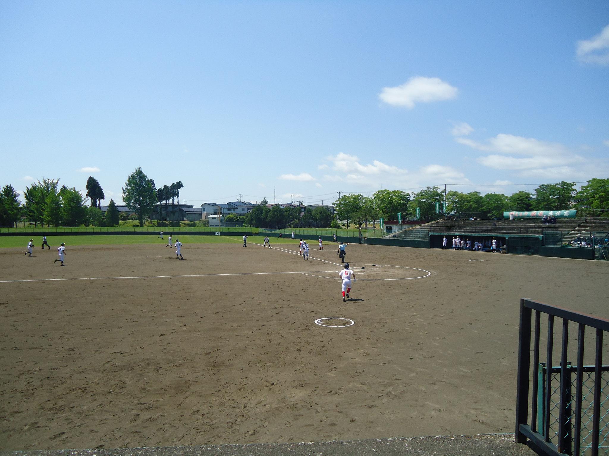 【軟式野球】5/29~6/1 @紫波球場