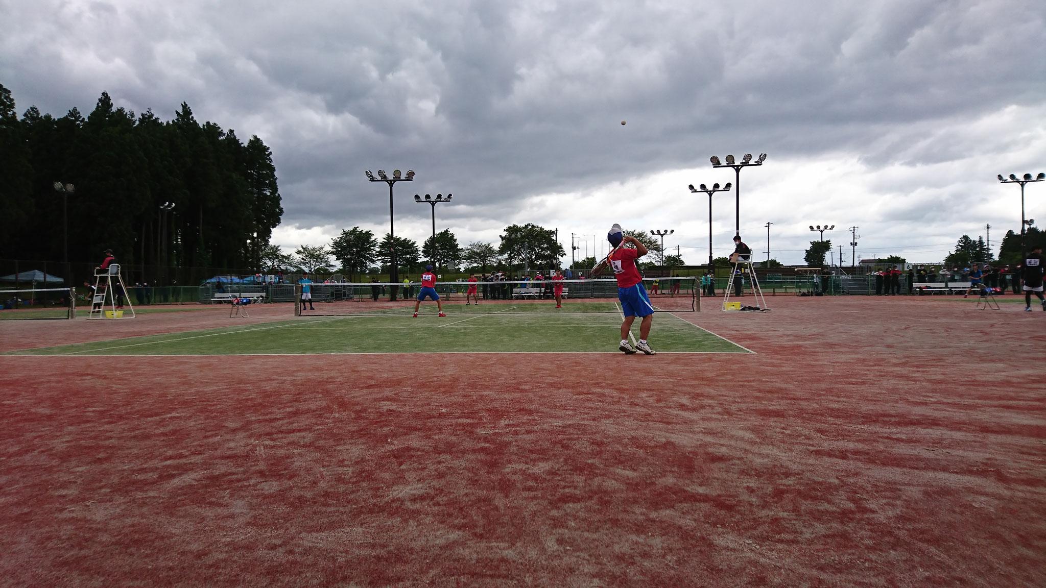 【ソフトテニス】5/28~5/30 @和賀川グリーンパーク