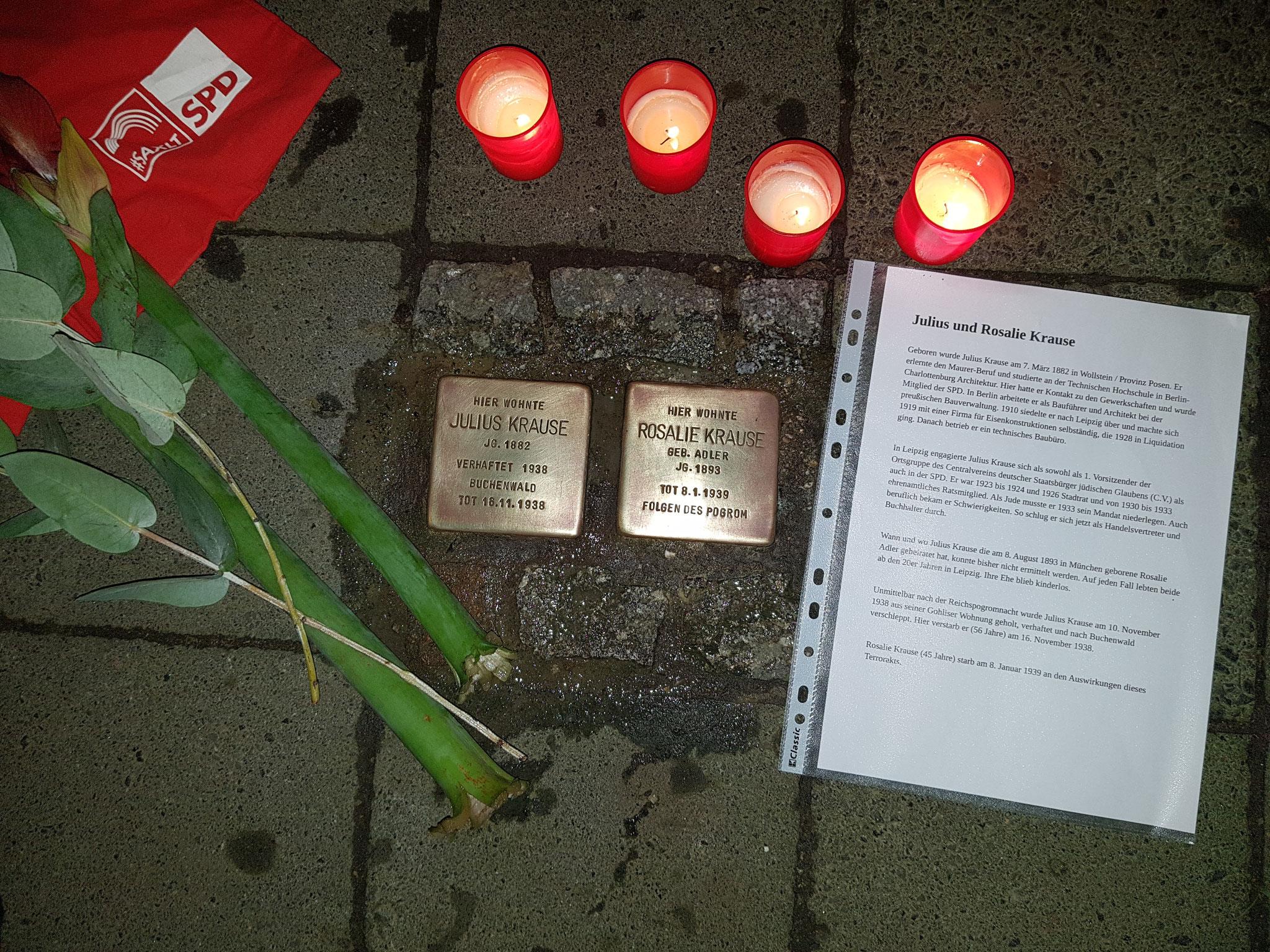Wir gedenken der Opfer des Holocaust