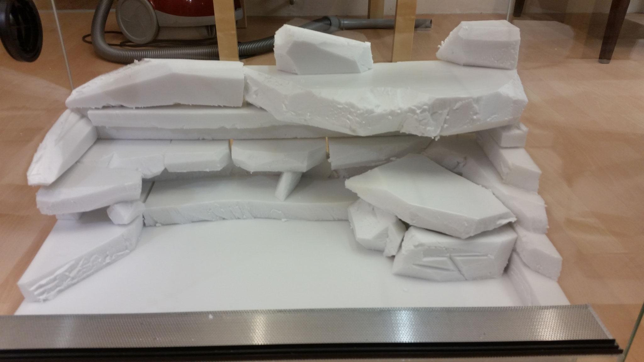 Wetbox mit abnehmbarem Deckel in die Rückwand integrieren