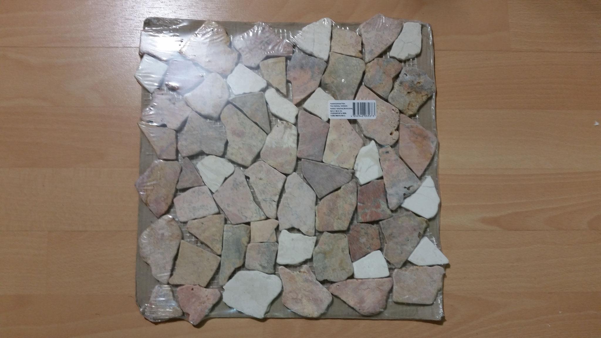 Mosaikmatte aus Bruchmosaik