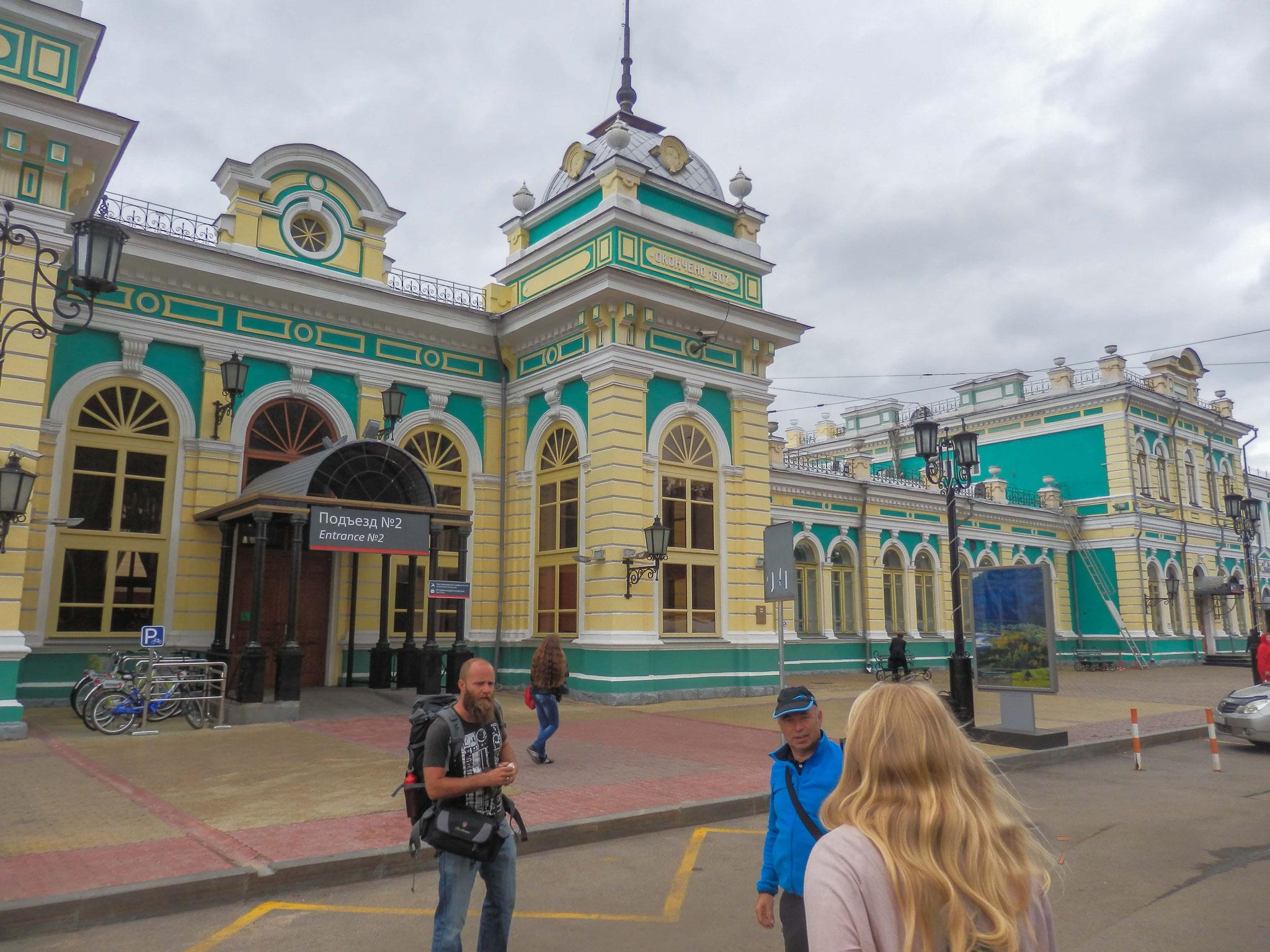 Bahnhof Listwjanka