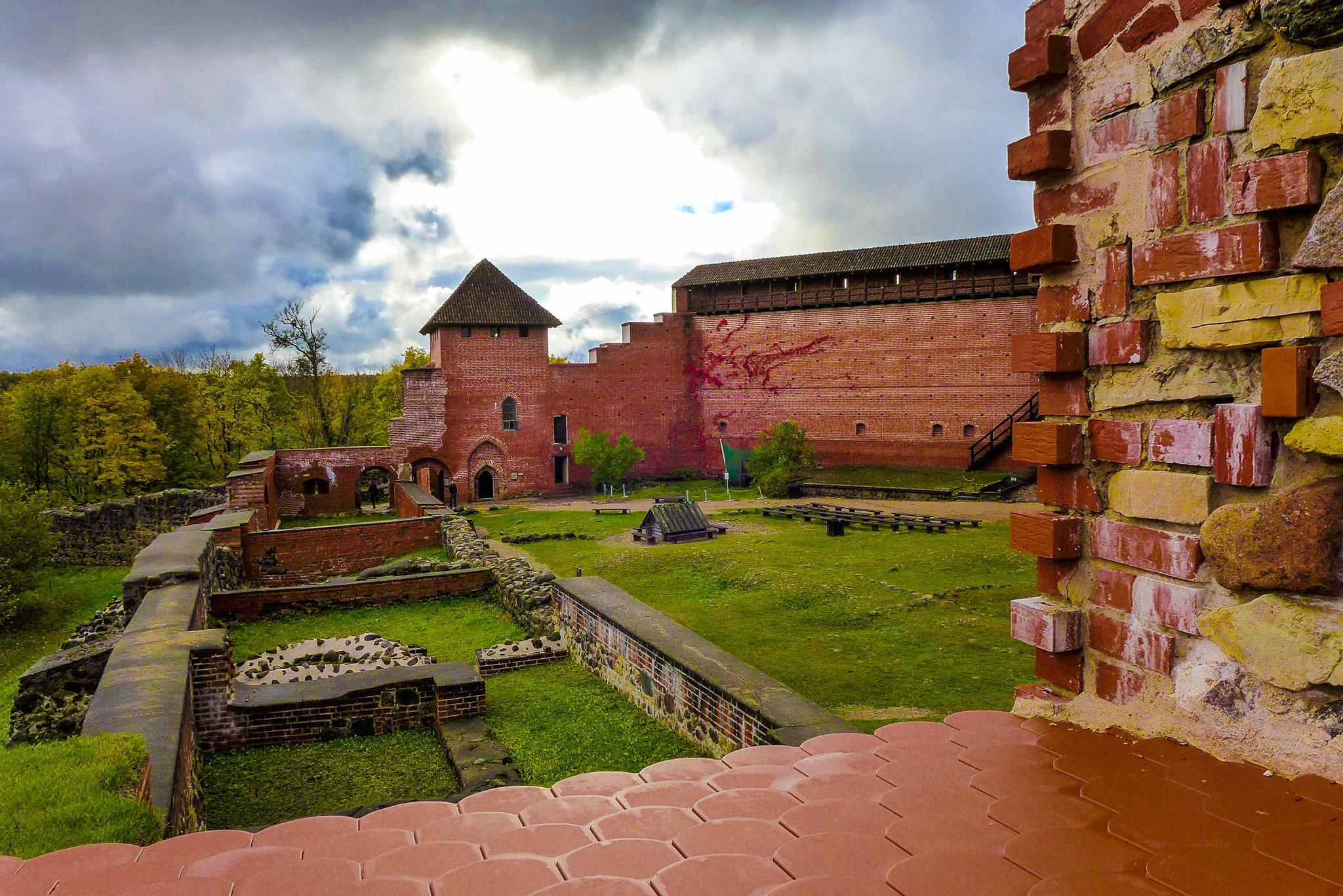 Cesis castle.
