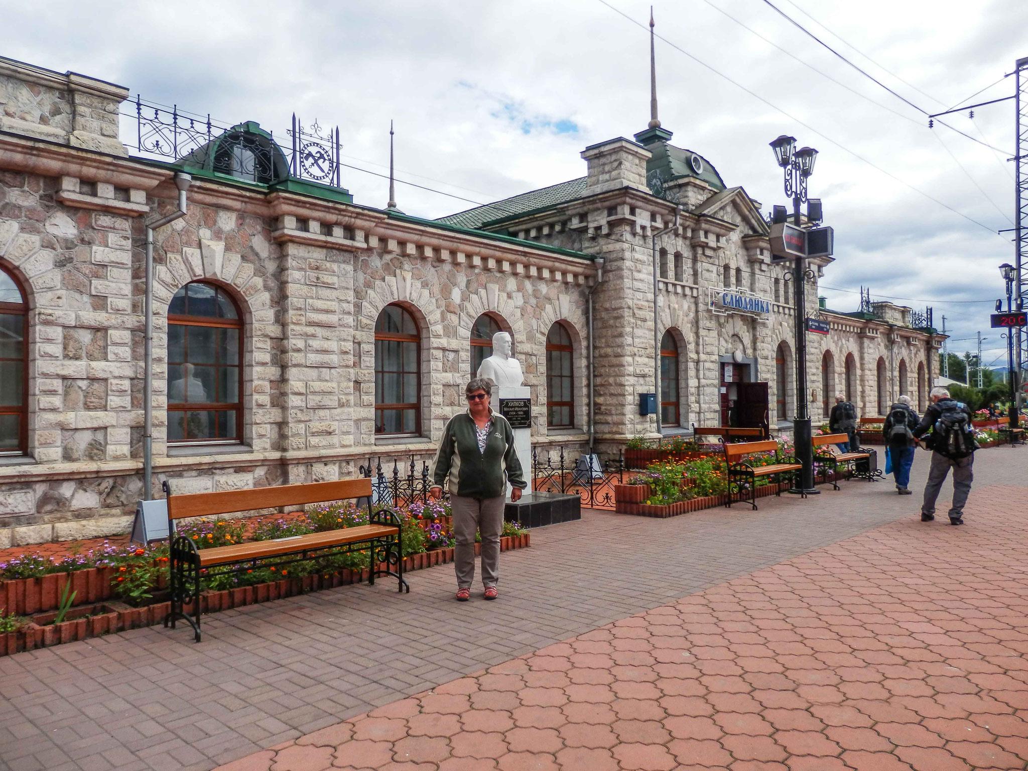 Railway station Irkutsk
