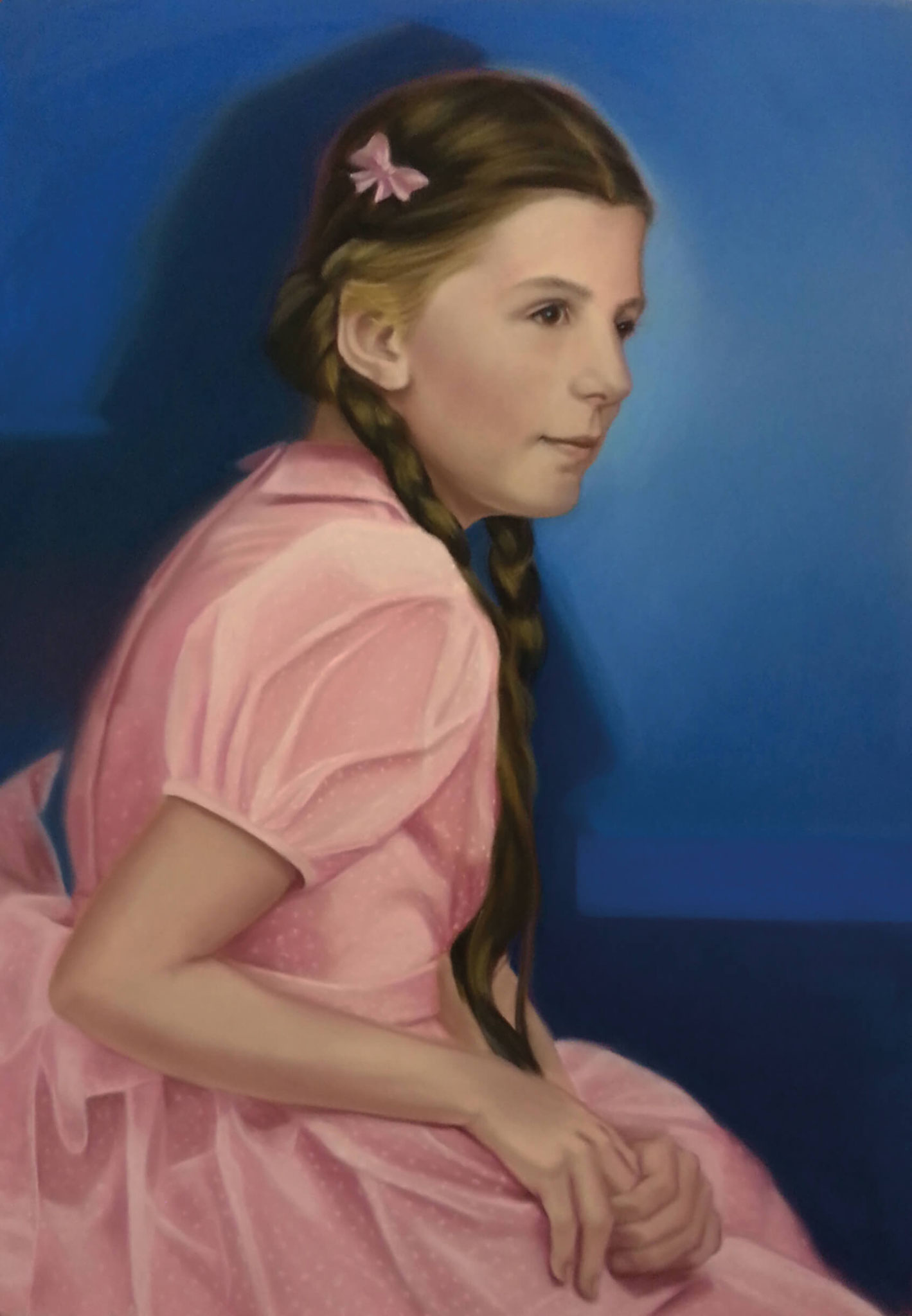 "Diana Rattray/Irene Andessner ""IN THE PINK II"", Pastell, 86 x 60 cm, 2014/2015"