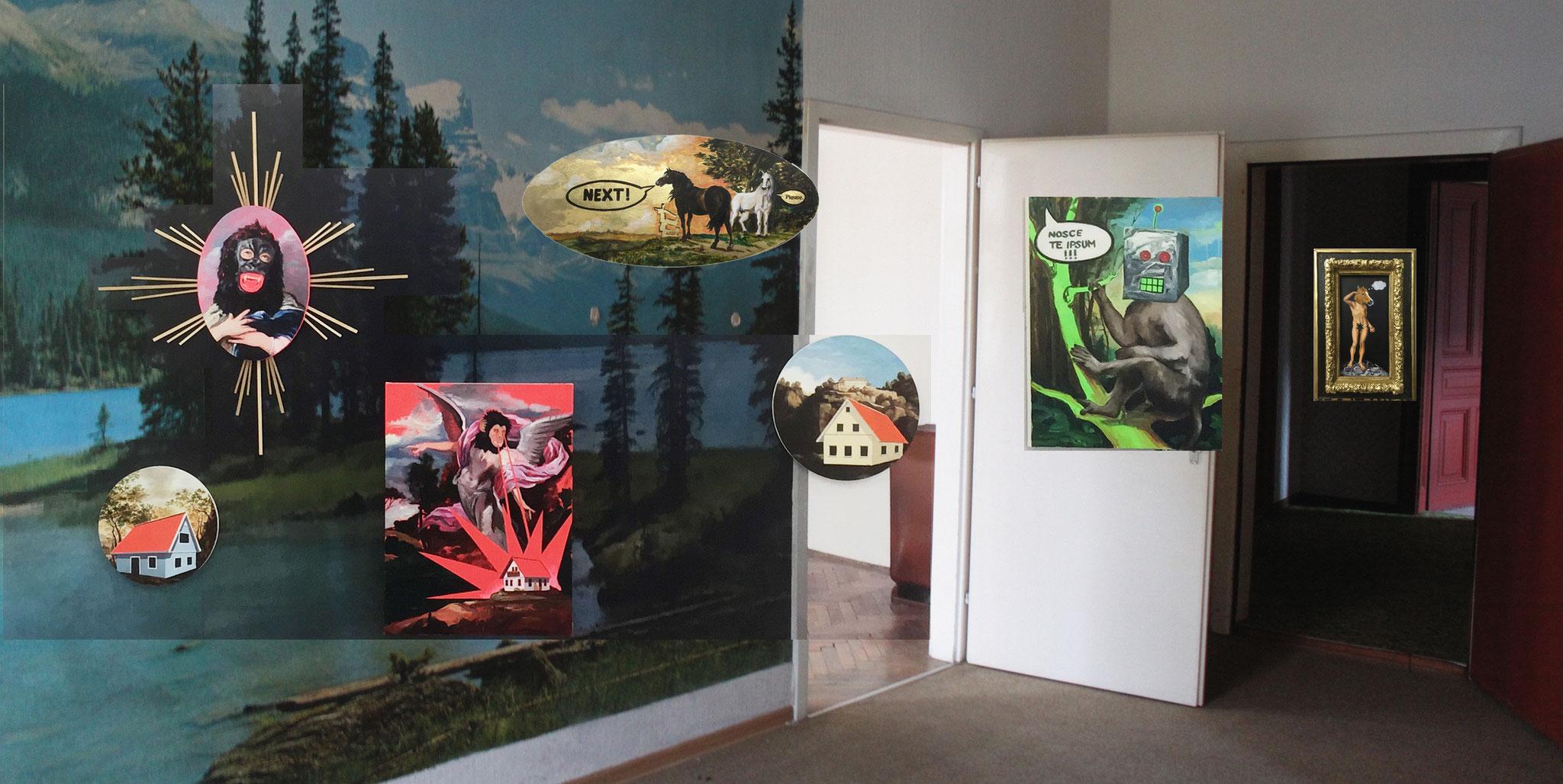 Ausstellung VOLTA - NEW YORK, Solostand, Katharina Karner, 2015