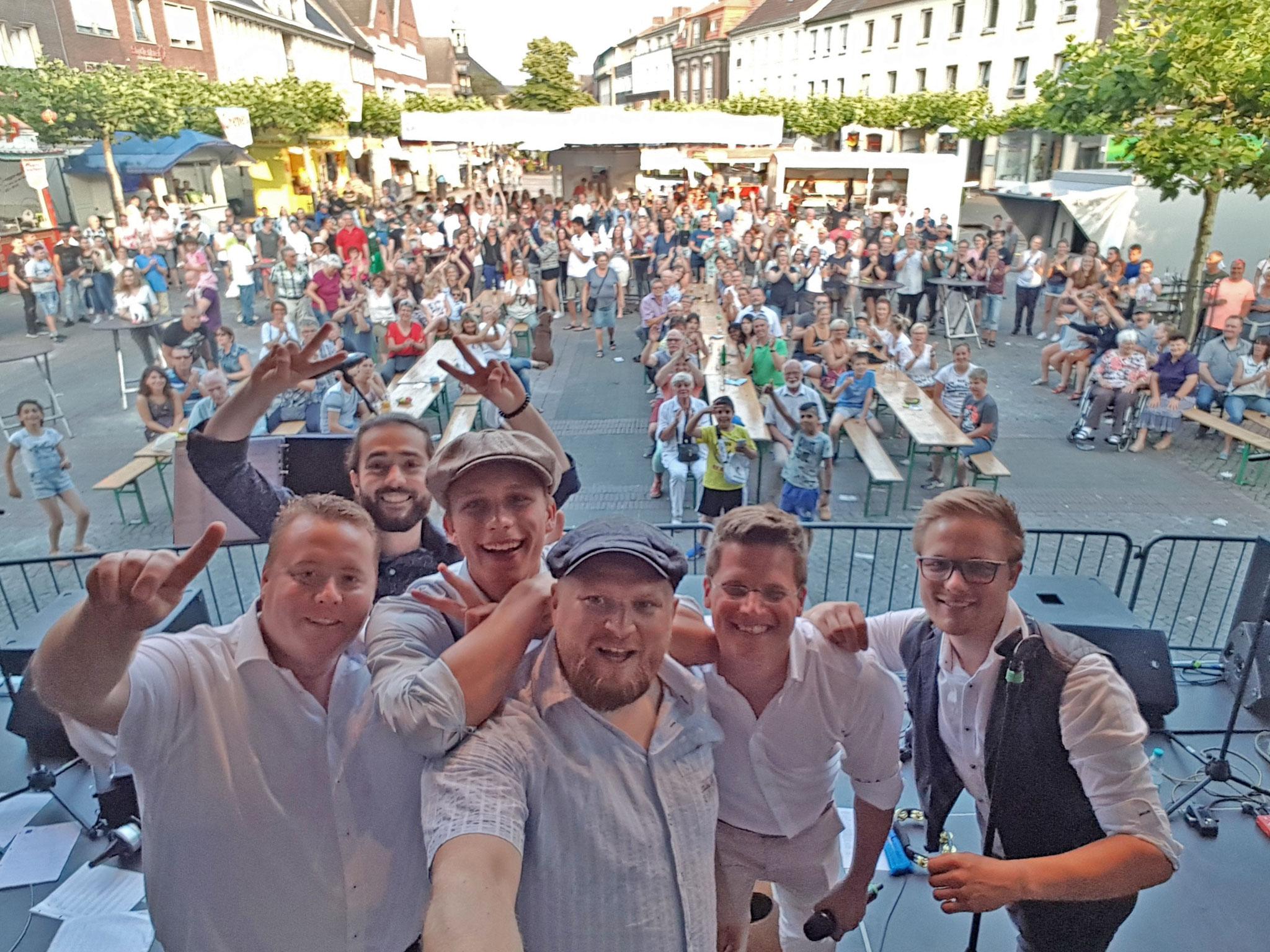 10.06.2018 - Zum vierten Mal auf der Gelderner Straßenparty