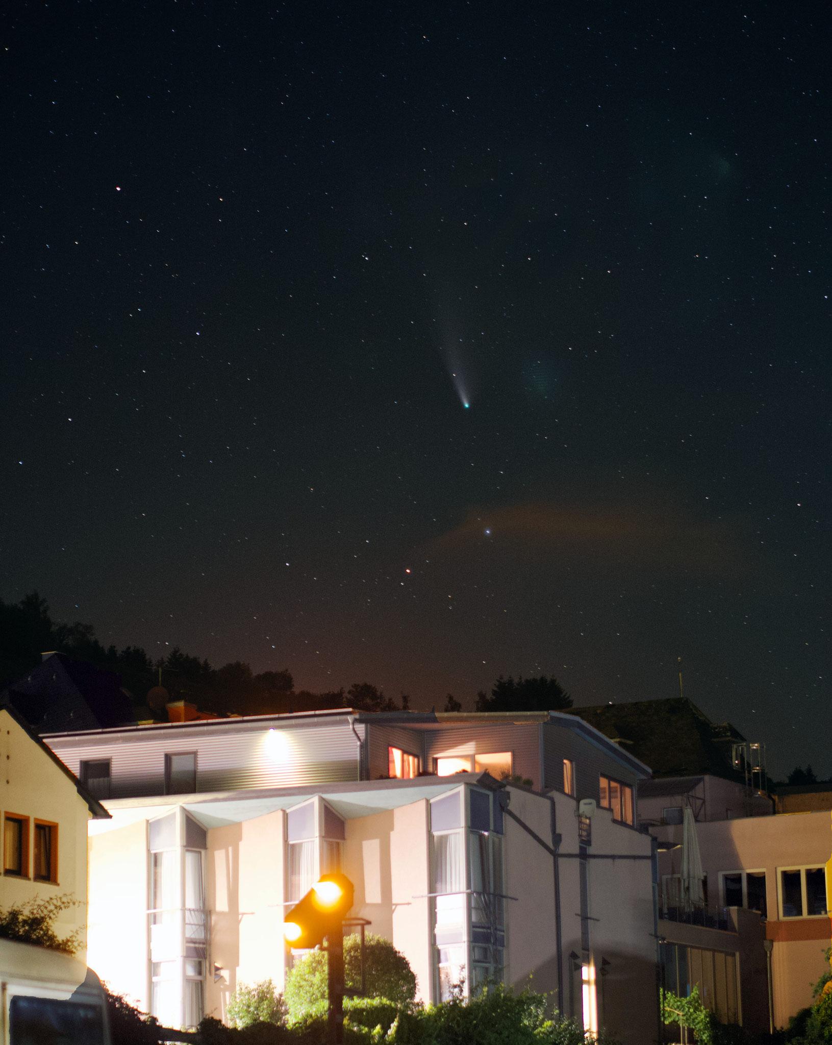 C/2020 F3 NEOWISE Weinberg-Hotel Nalbach