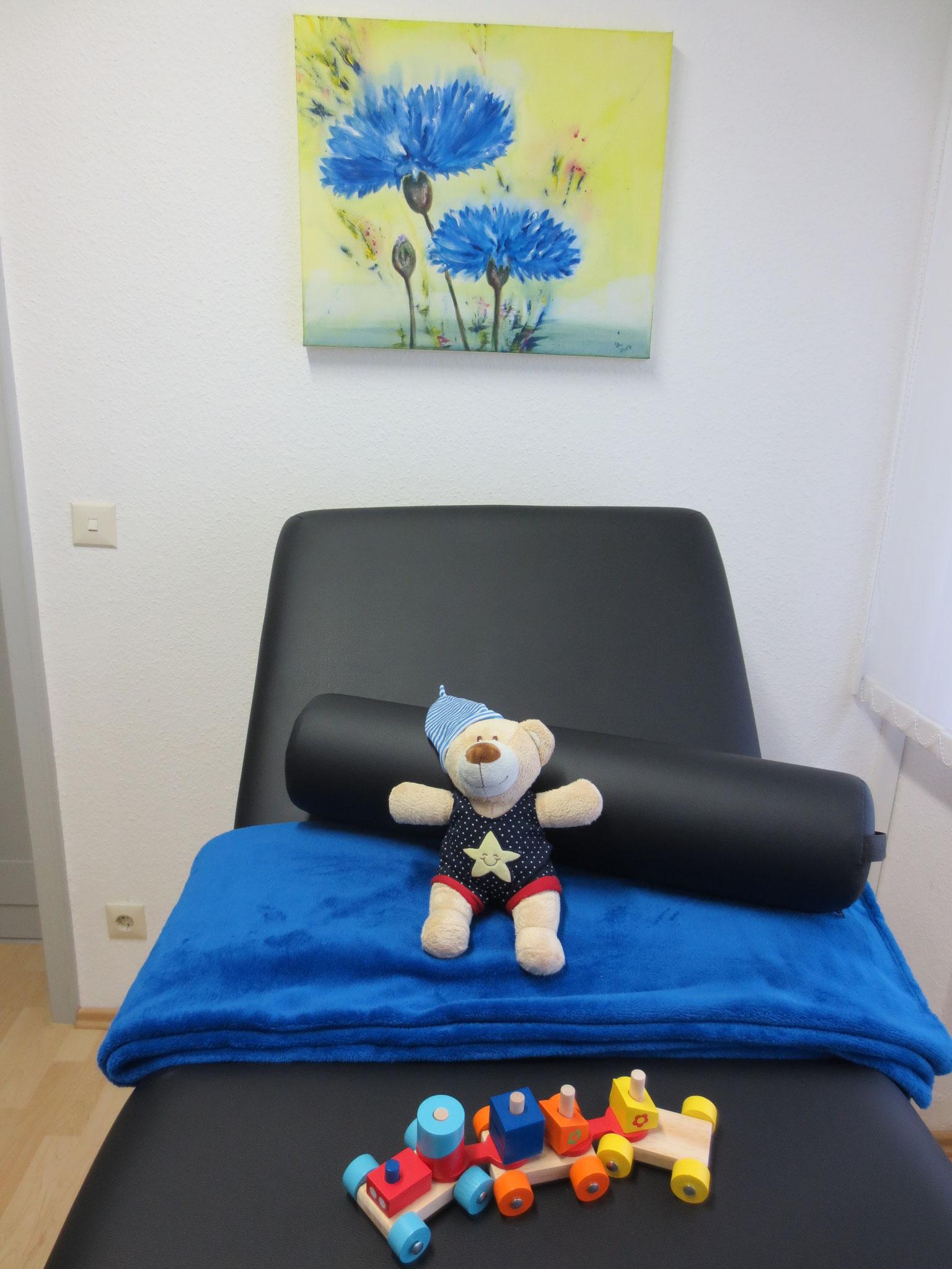 Behandlungsraum (auch für Kinder)