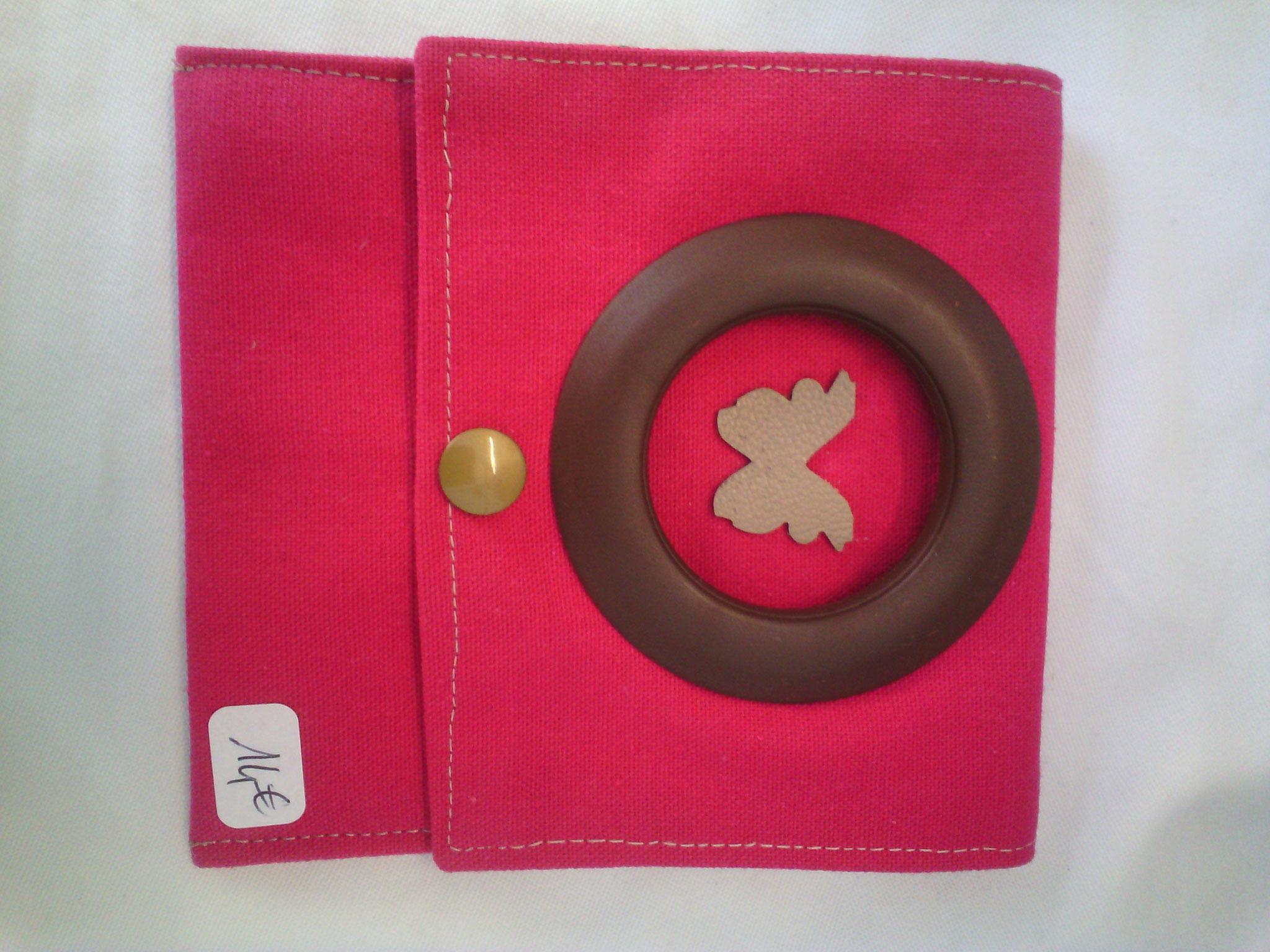 Pochette chargeur portable, couleur rose, tissu épais