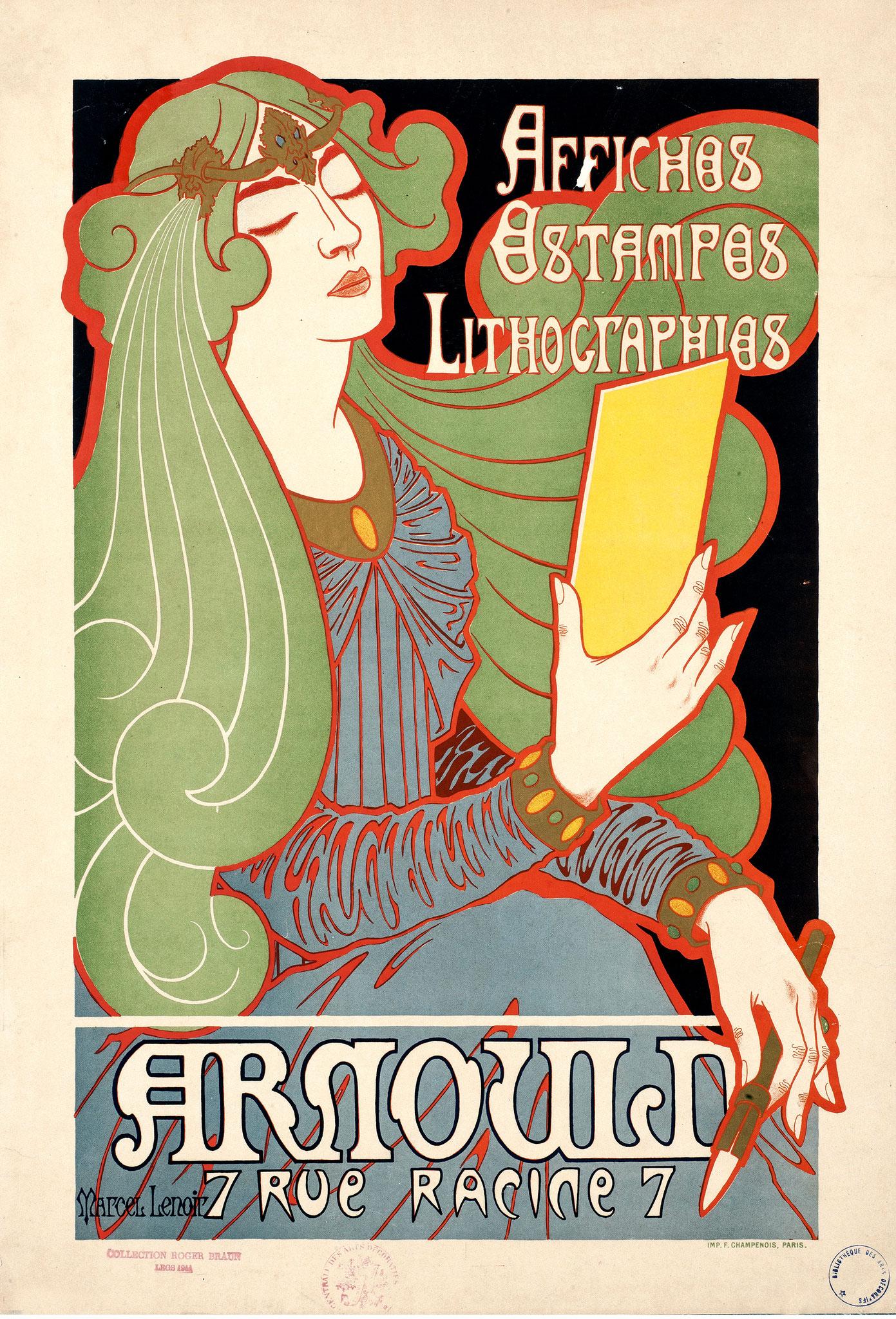 Affiche de Marcel Lenoir (1896)
