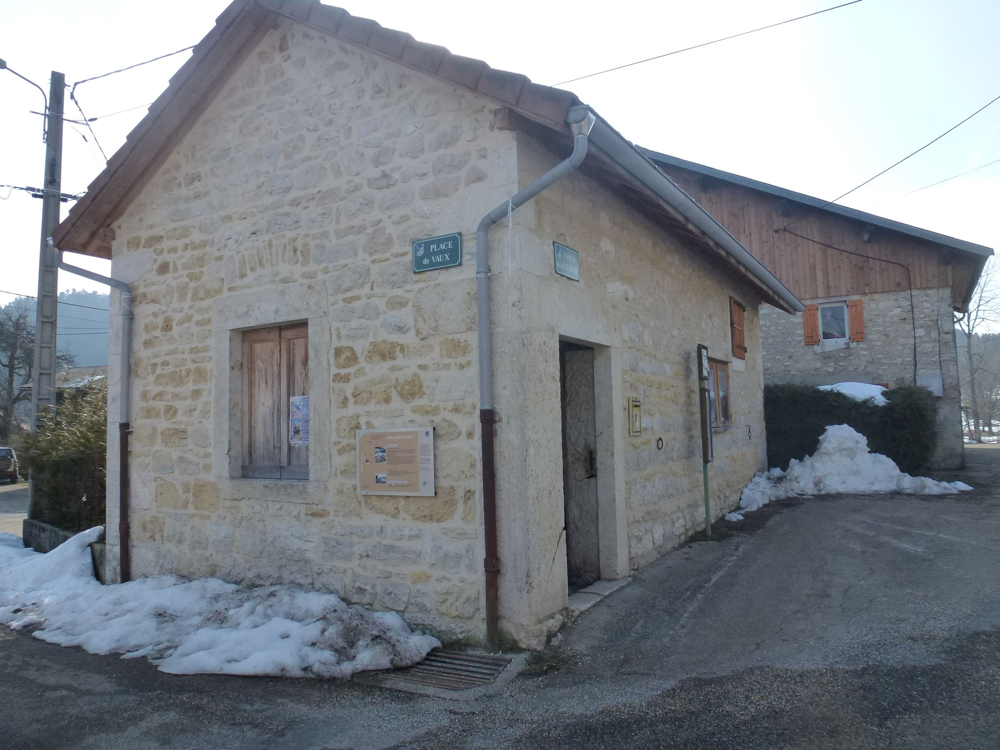 Four de Vaux Saint Sulpice (Cormaranche)