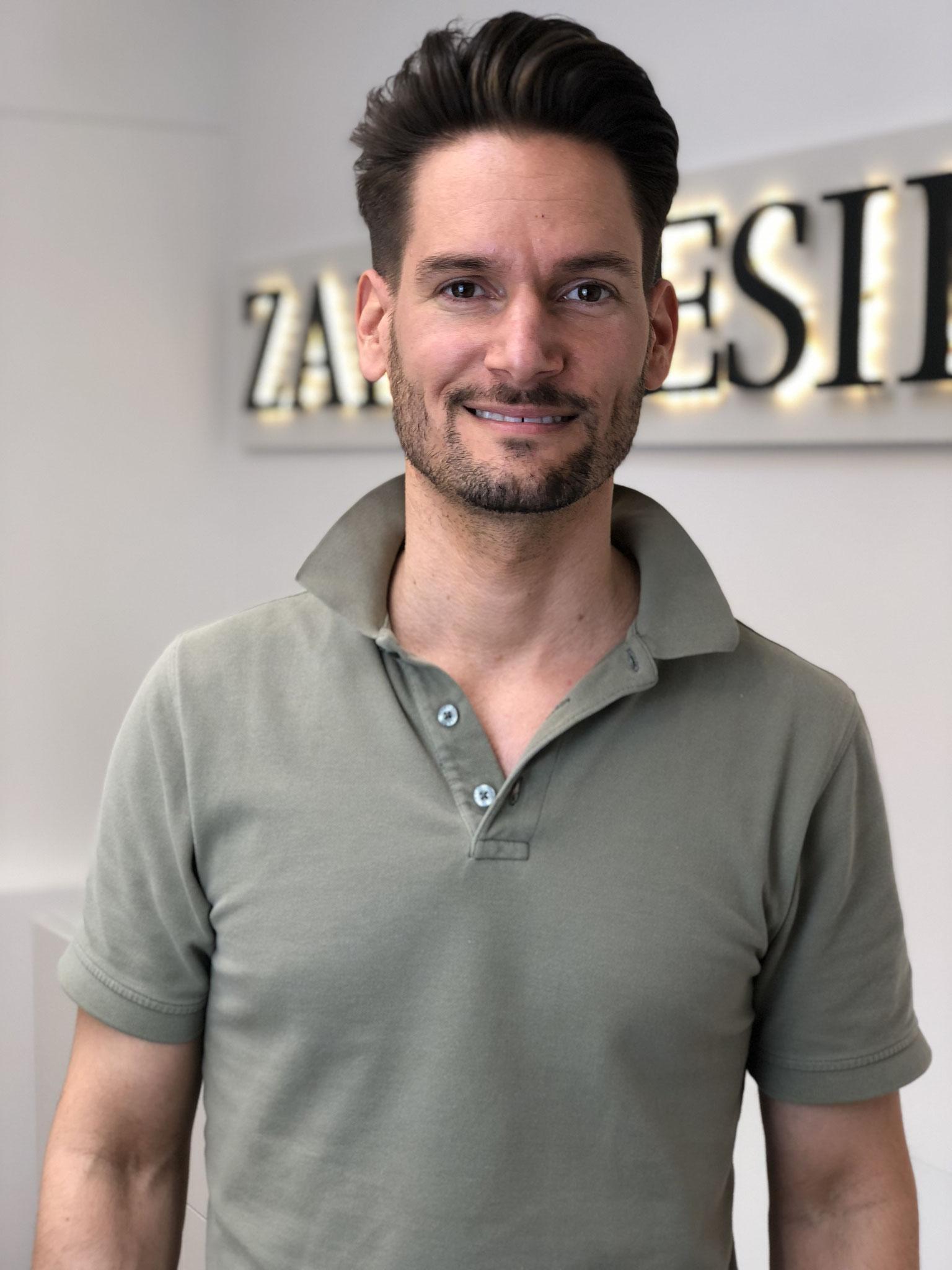 Dr. Tobias Wrastil – Behandelnder Zahnarzt