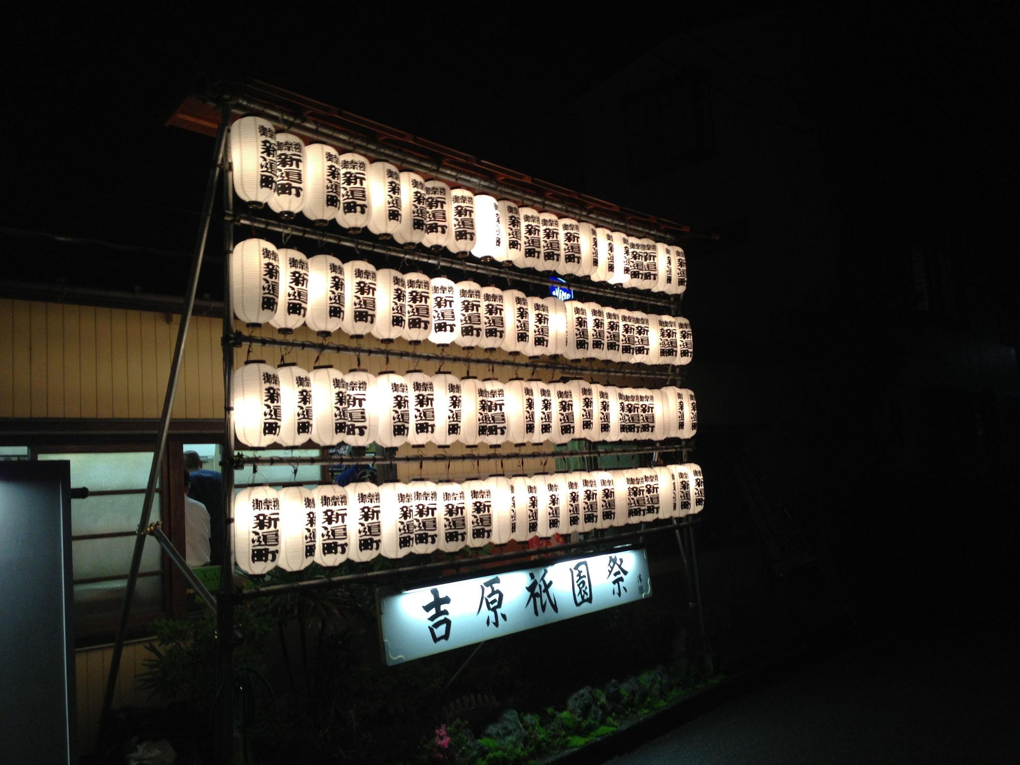 富士市 夏祭り 電気工事