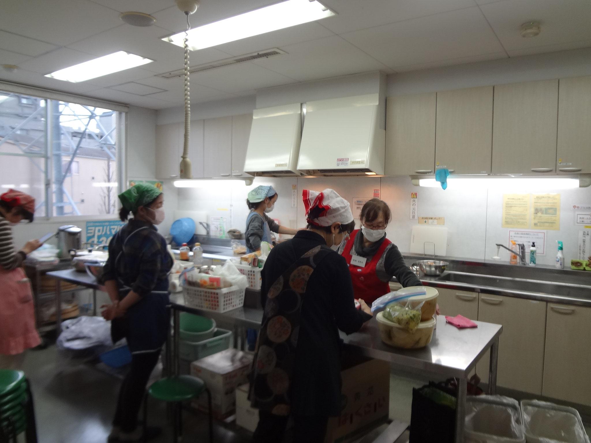今月はボランティアAチームが担当。