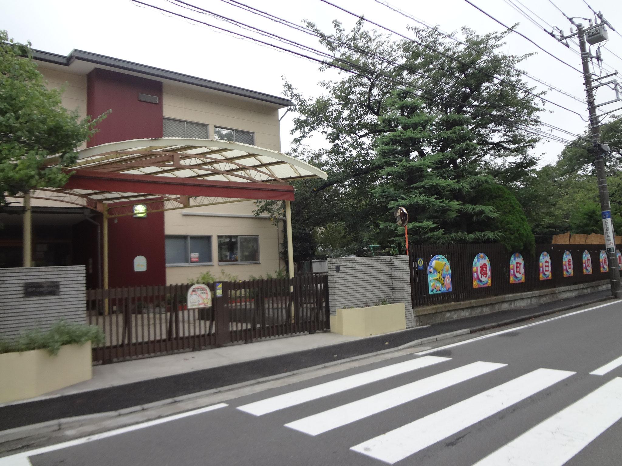 会場は盆踊り大会に続いて、樽町白梅幼稚園です。