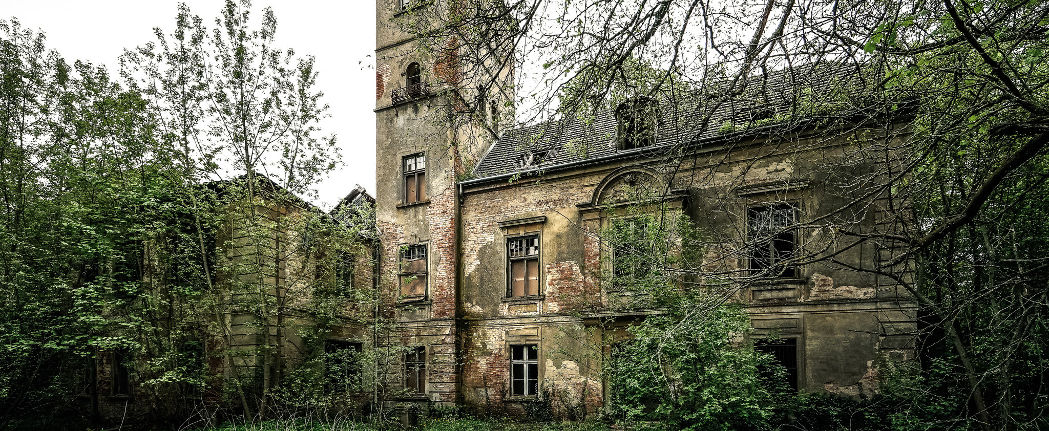 Ein Schloss das seit vielen Jahren leer steht