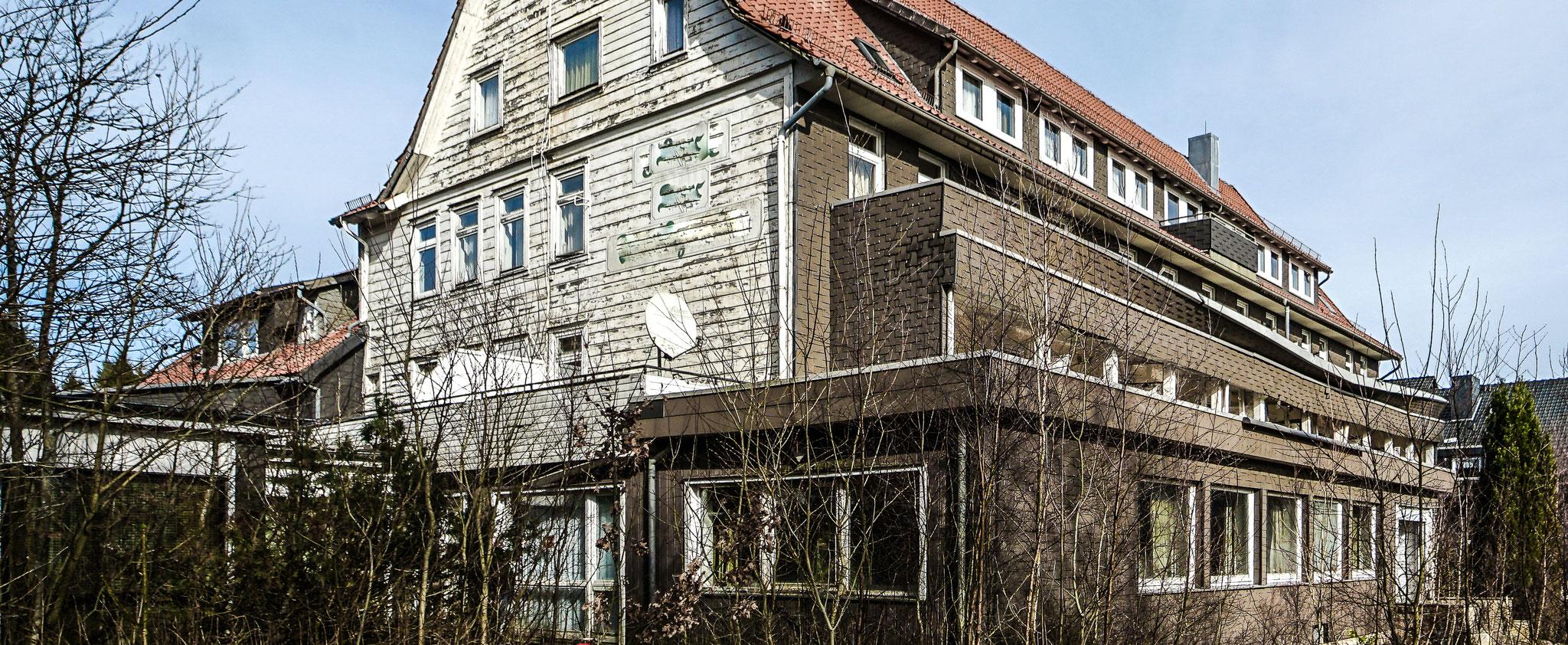 Das ehemalige Hotel