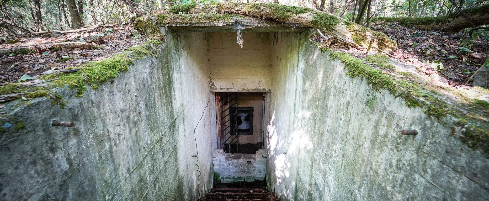 Bunker der Kreiseinsatzleitung