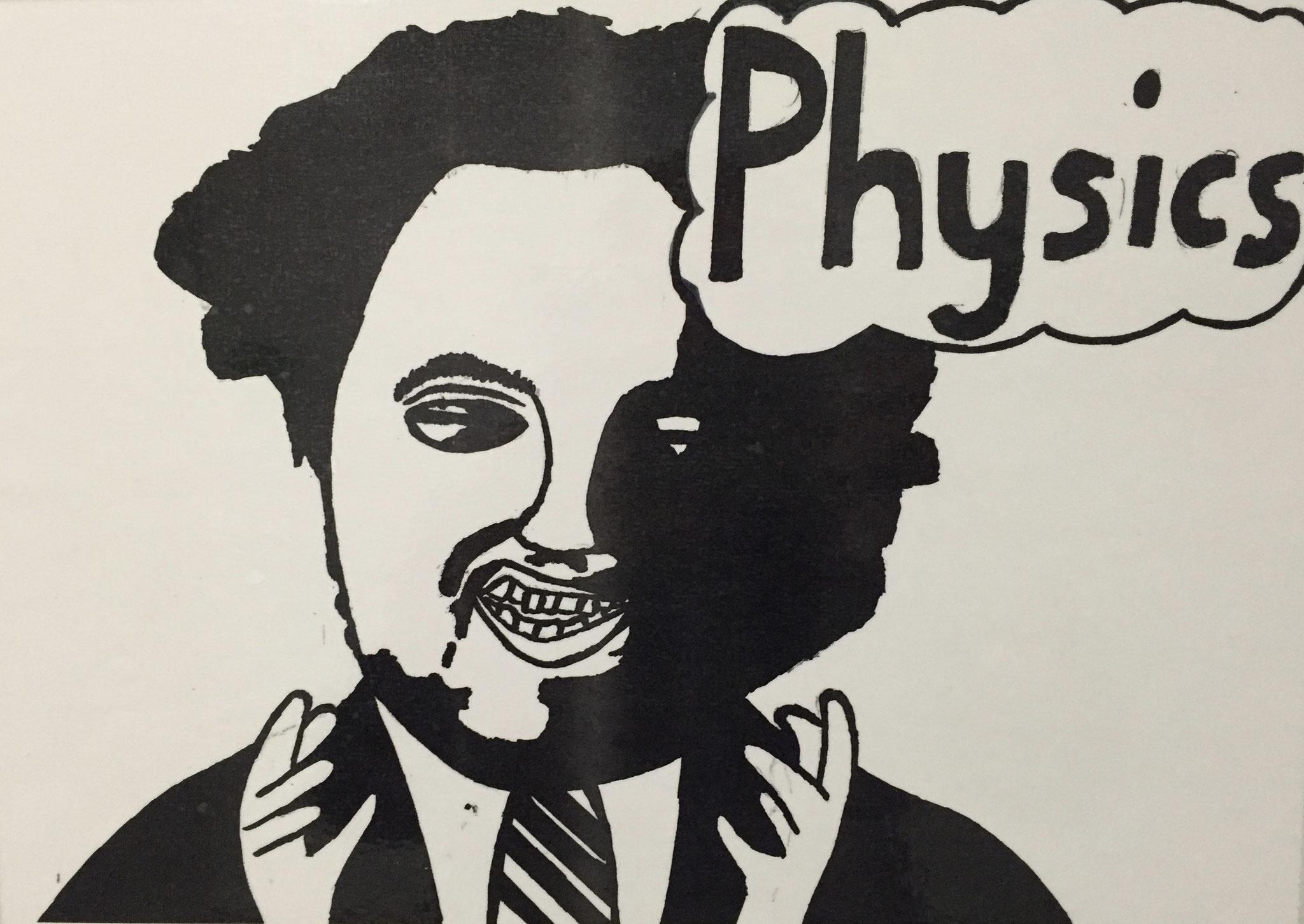Tür zur Physikvorbereitung.