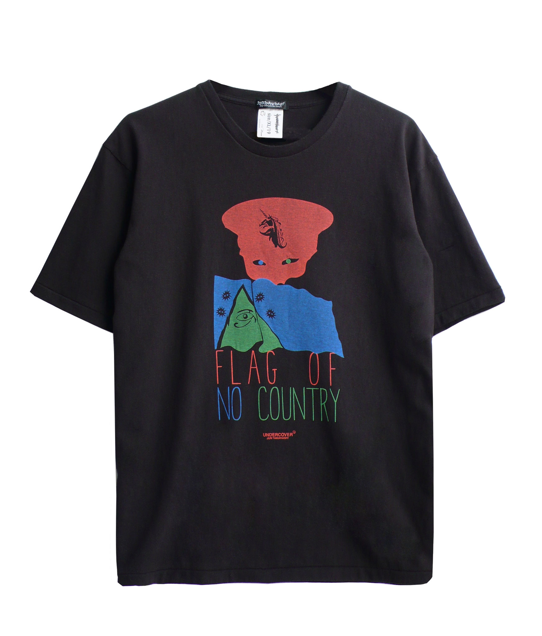 JYUUNANHEARTxUNDERCOVER 「FLAG OF NO COUNTRY」BK