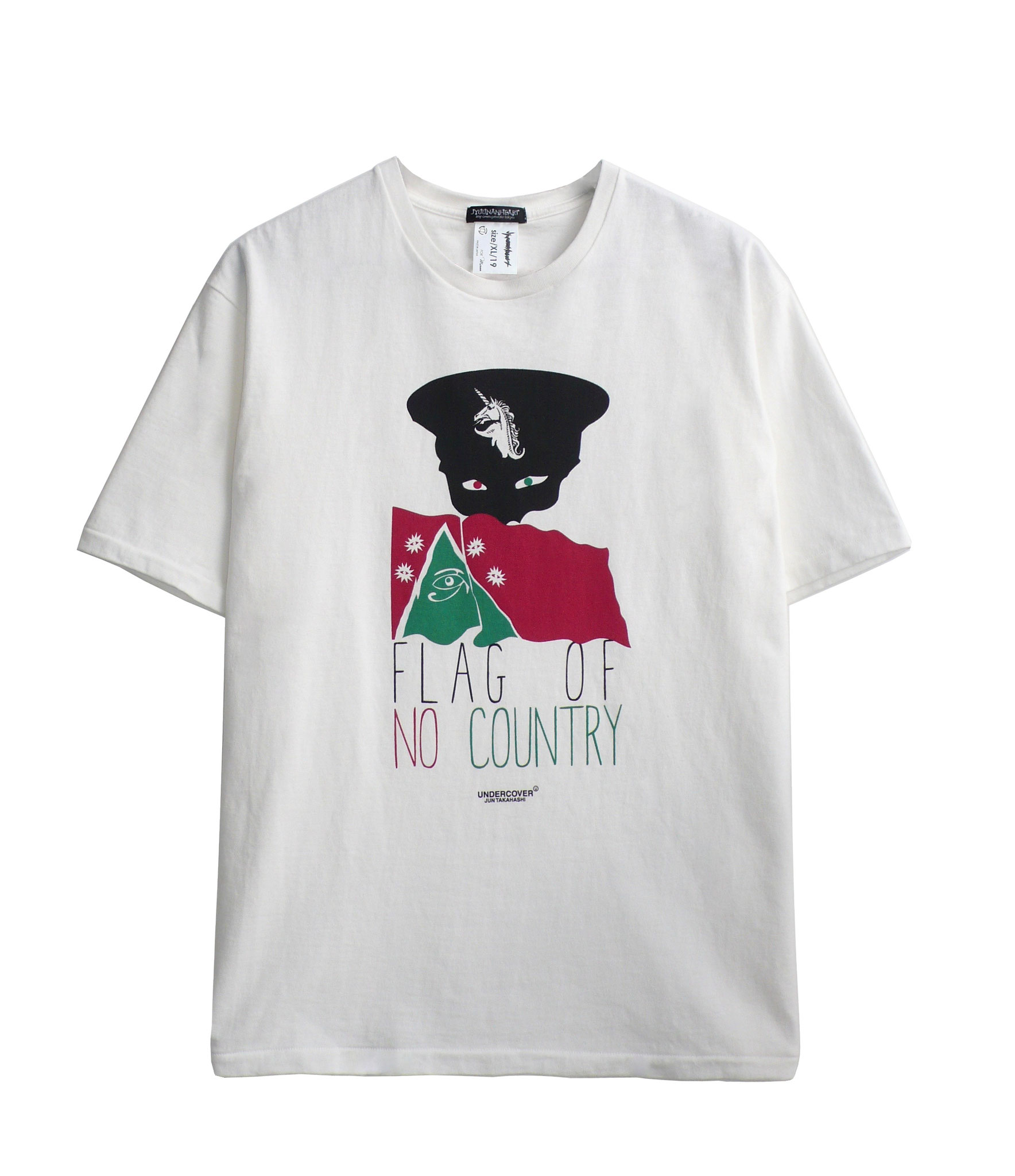 JYUUNANHEARTxUNDERCOVER 「FLAG OF NO COUNTRY」WH