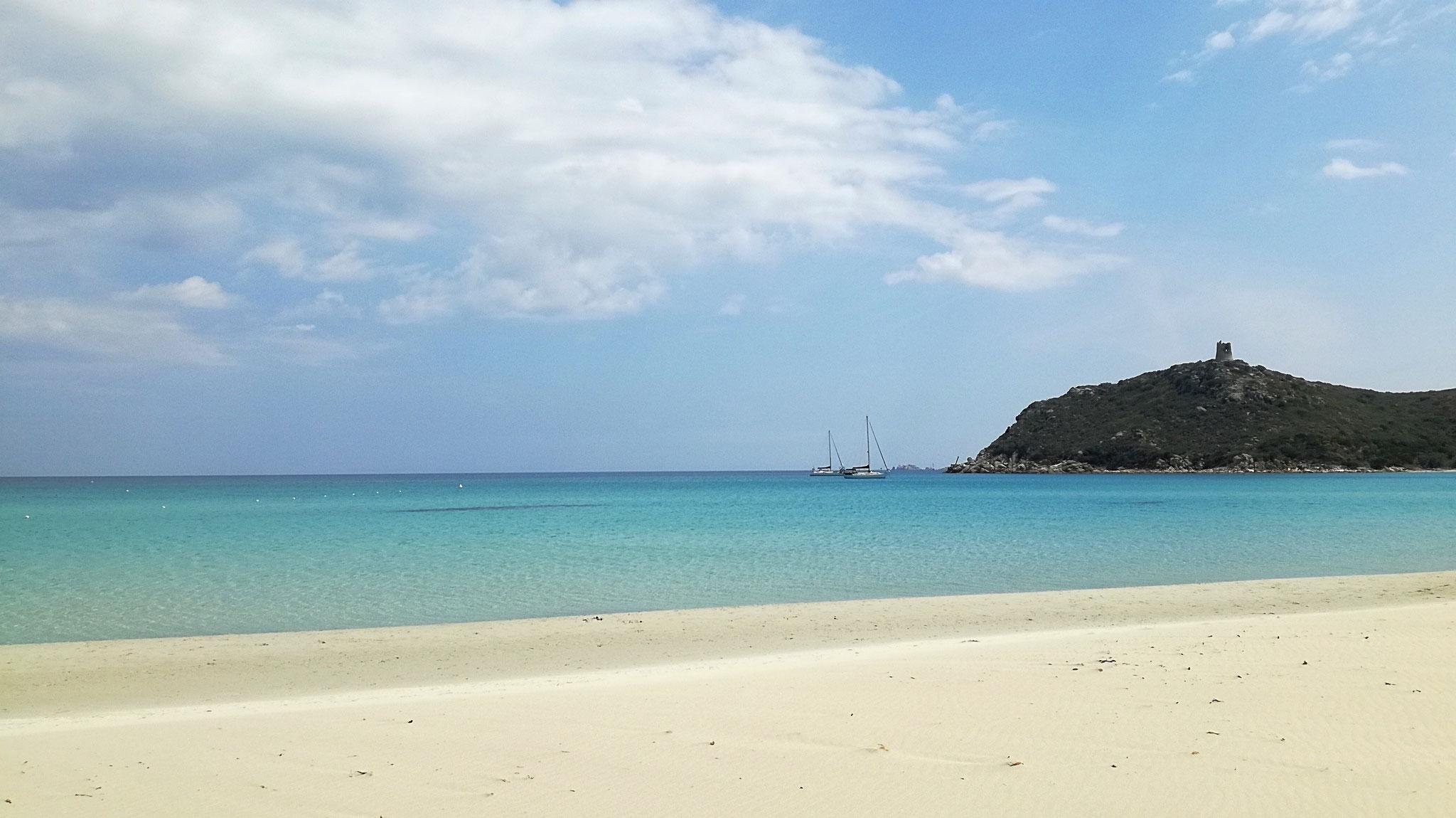 Sardinien - Spiaggia di Porto Giunco
