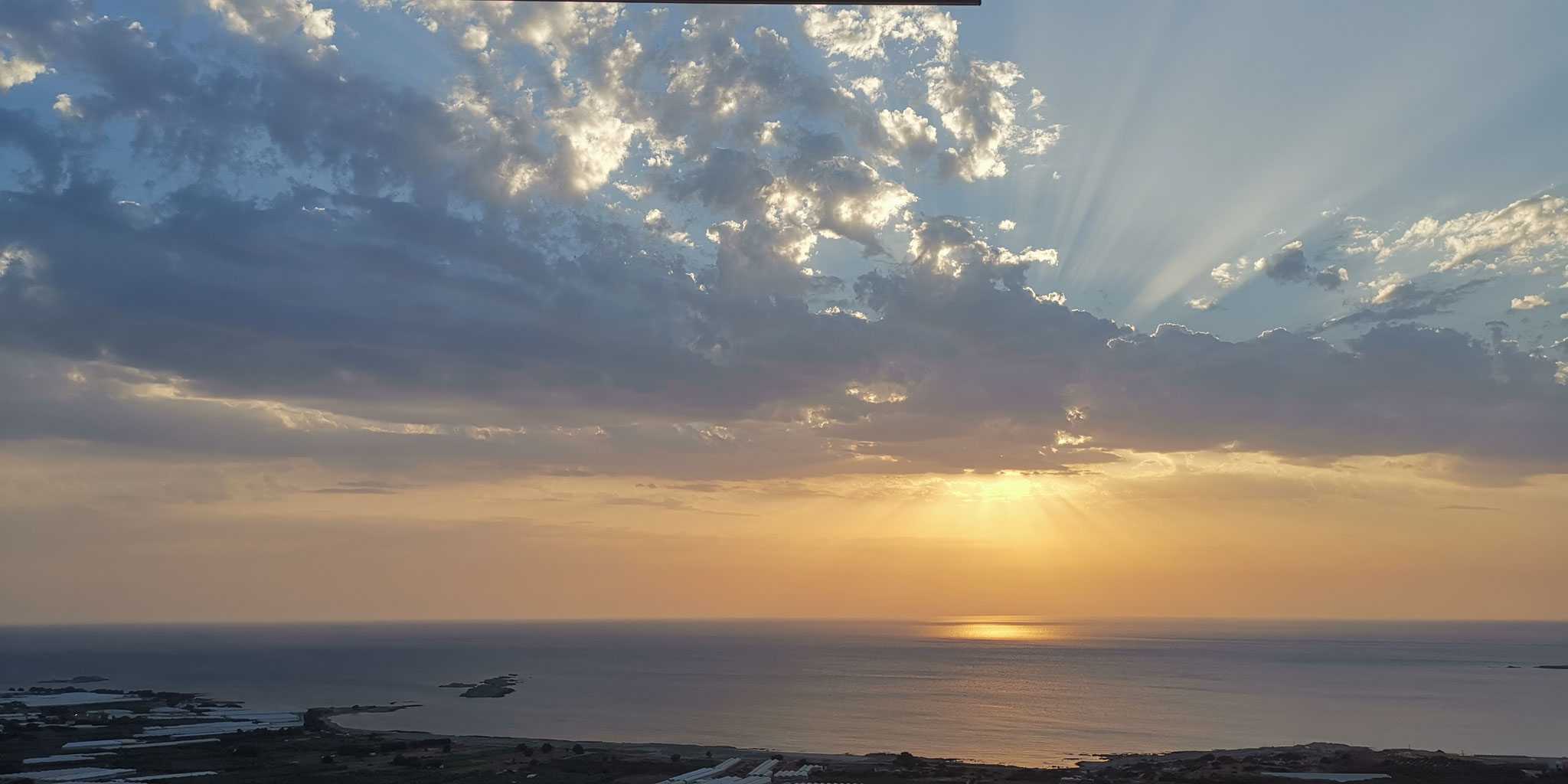 Falassarna Sonnenuntergang