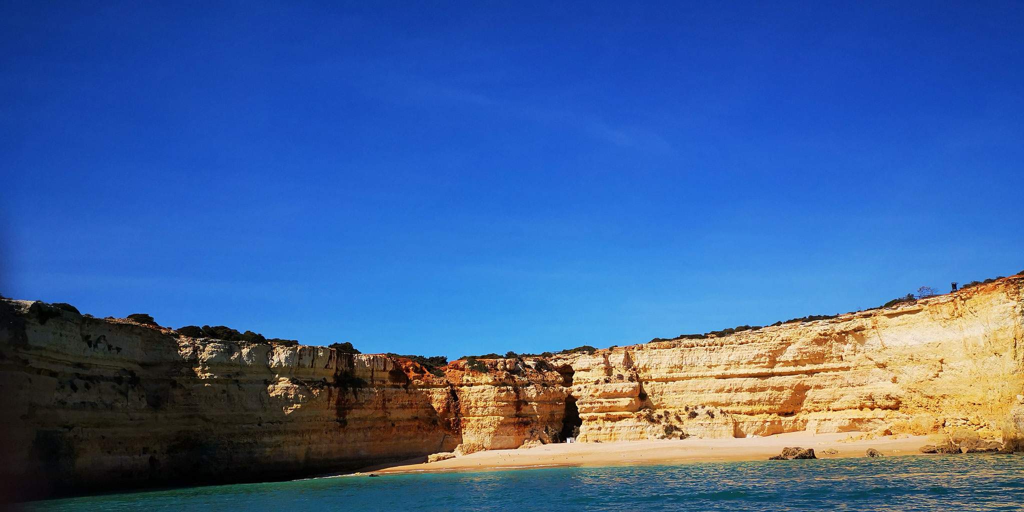 Einsamer Strand - Alagarve