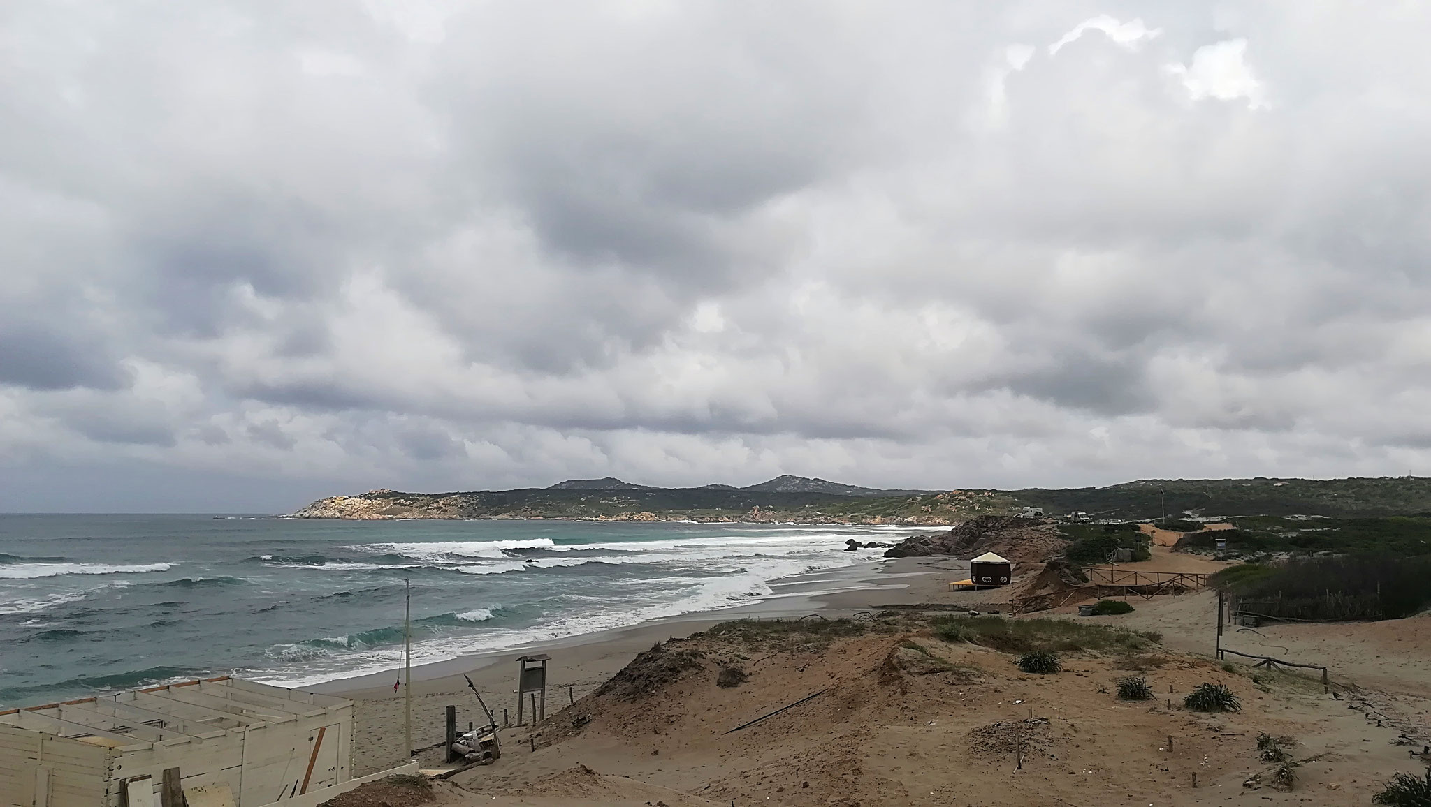 Strand von Rena Majore