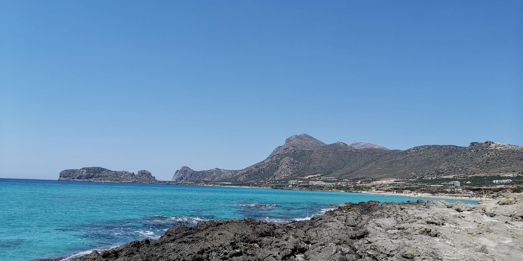 Kreta - Falassarna Strand