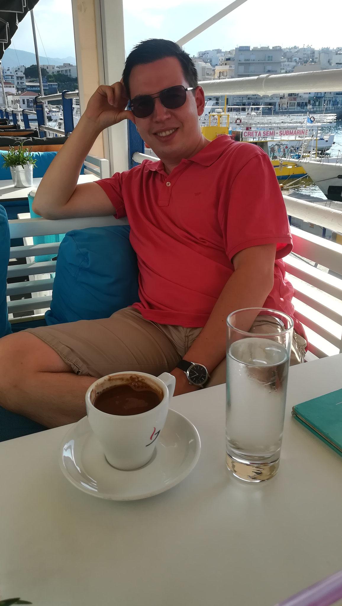 Agios Nikolaos Cafe am Hafen
