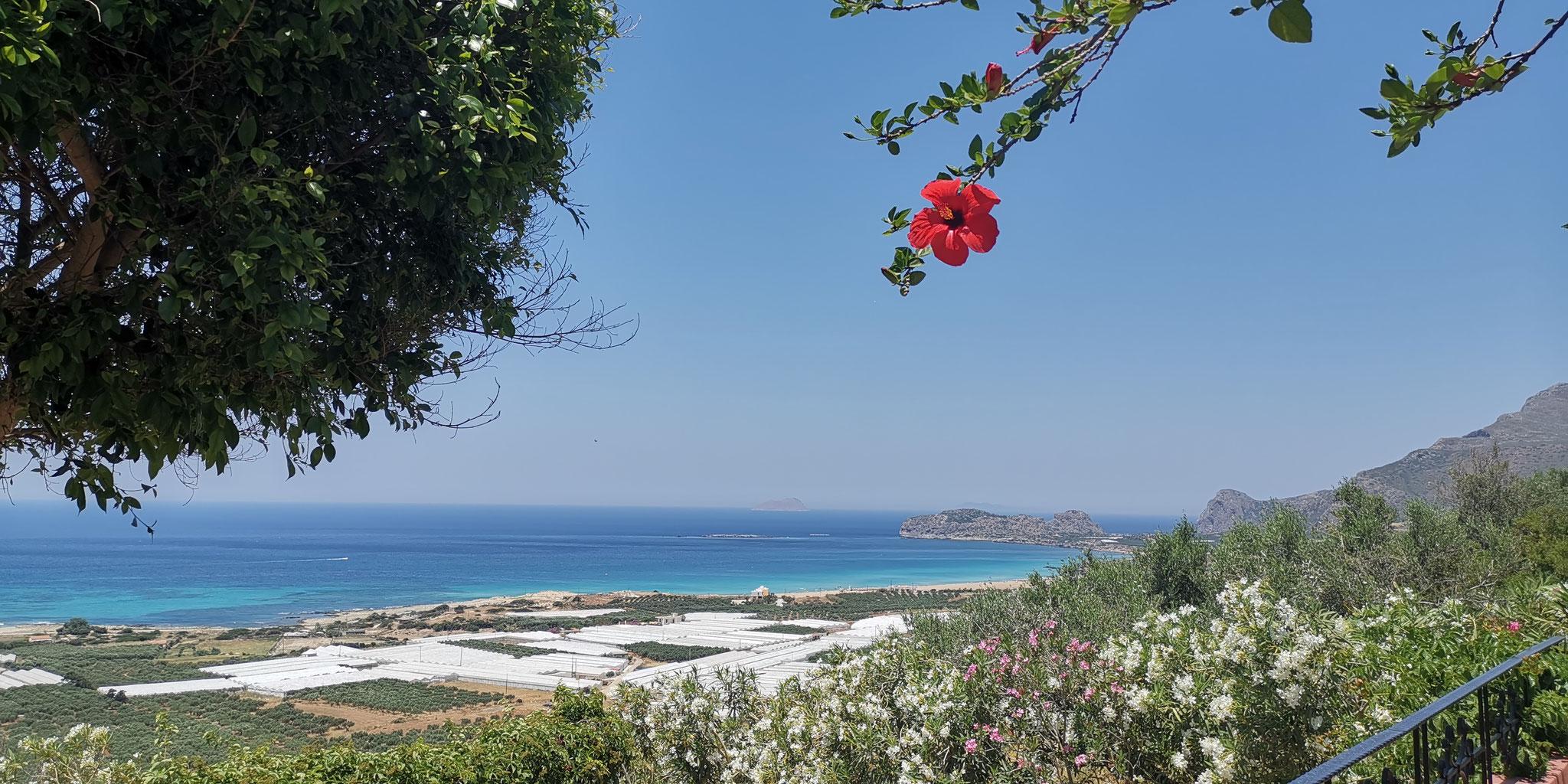 Kreta - Falassarna Ausblick